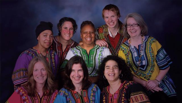 Anzanga Marimba Ensemble: Group Photo