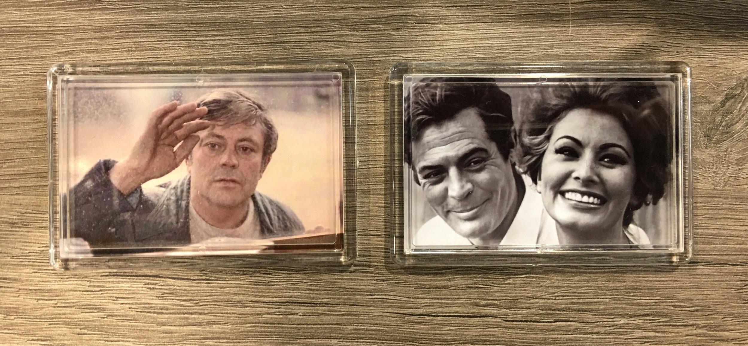 Magnets avec une photo à personnaliser