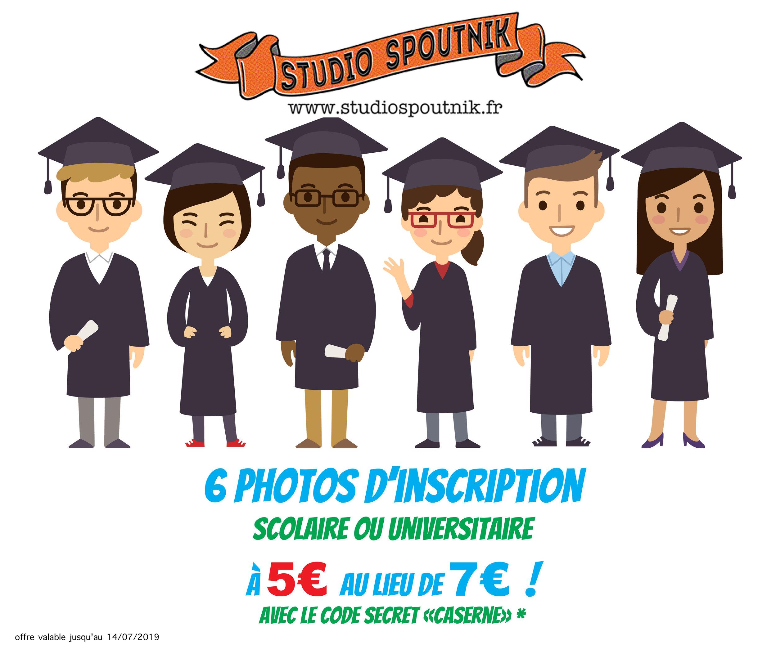promo photos inscription scolaire