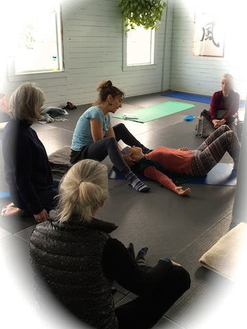 Receive the therapeutic touch and verbal guidance unique to Alexander Technique in a safe container with other women as we journey into the wisdom of our own bodies. The Wisdom Body practice includes Alexander Technique fundamentals, developmental movement explorations, guided body-centered meditations, self-care awareness practices, basic anatomy, reading material and group discussion to deepen our understanding of our beautifully similar, yet unique female bodies. The Alexander Technique reawakens our psycho-physical awareness and helps us to free ourselves from the deep seeded habits and beliefs held in our bodies, so that we can begin to move through our lives gracefully with a natural poise, and an open and willing heart.