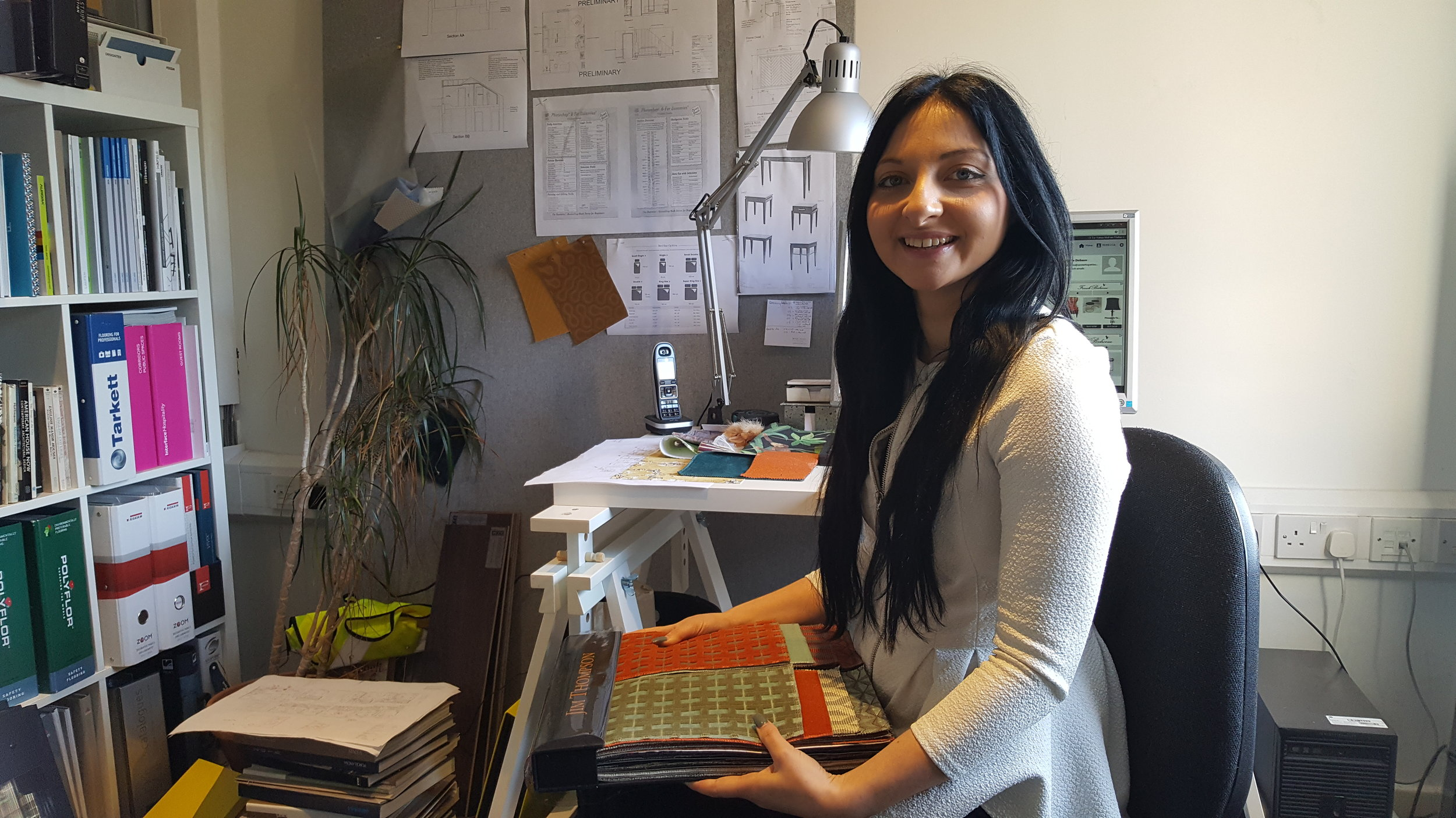Rebecca Hayman, Interior Design Assistant