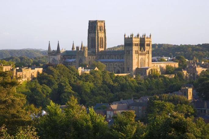 The city of Durham, where Dave worked as a school leaver.