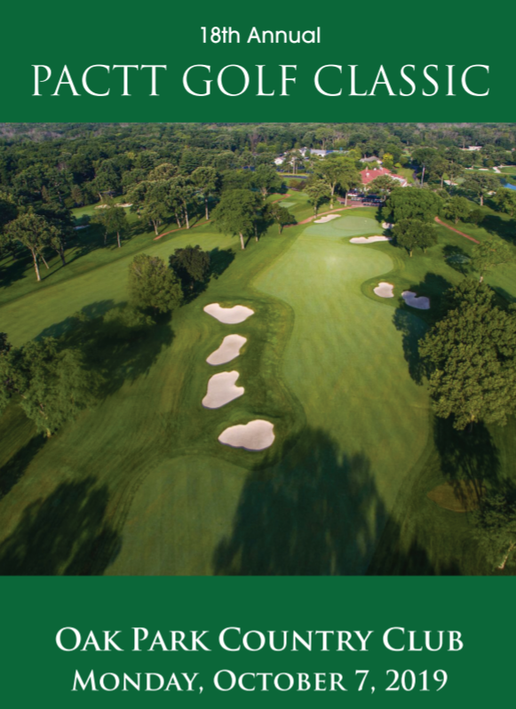By participating in the 18th annual PACTT Golf Classic, you are investing directly in the quality of life of a young person with autism. Come out to support PACTT and individuals with autism by playing one of the premier golf venues in Chicago. Reserve your spot at  www.pactt.org/golf