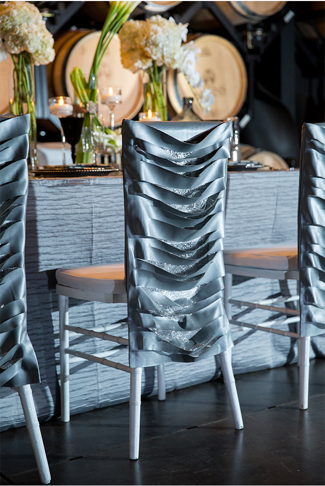 50 Shades of Grey Wedding Inspiration at Wiens Family Cellars | Michelle Garibay Events | Temecula Wedding Planning