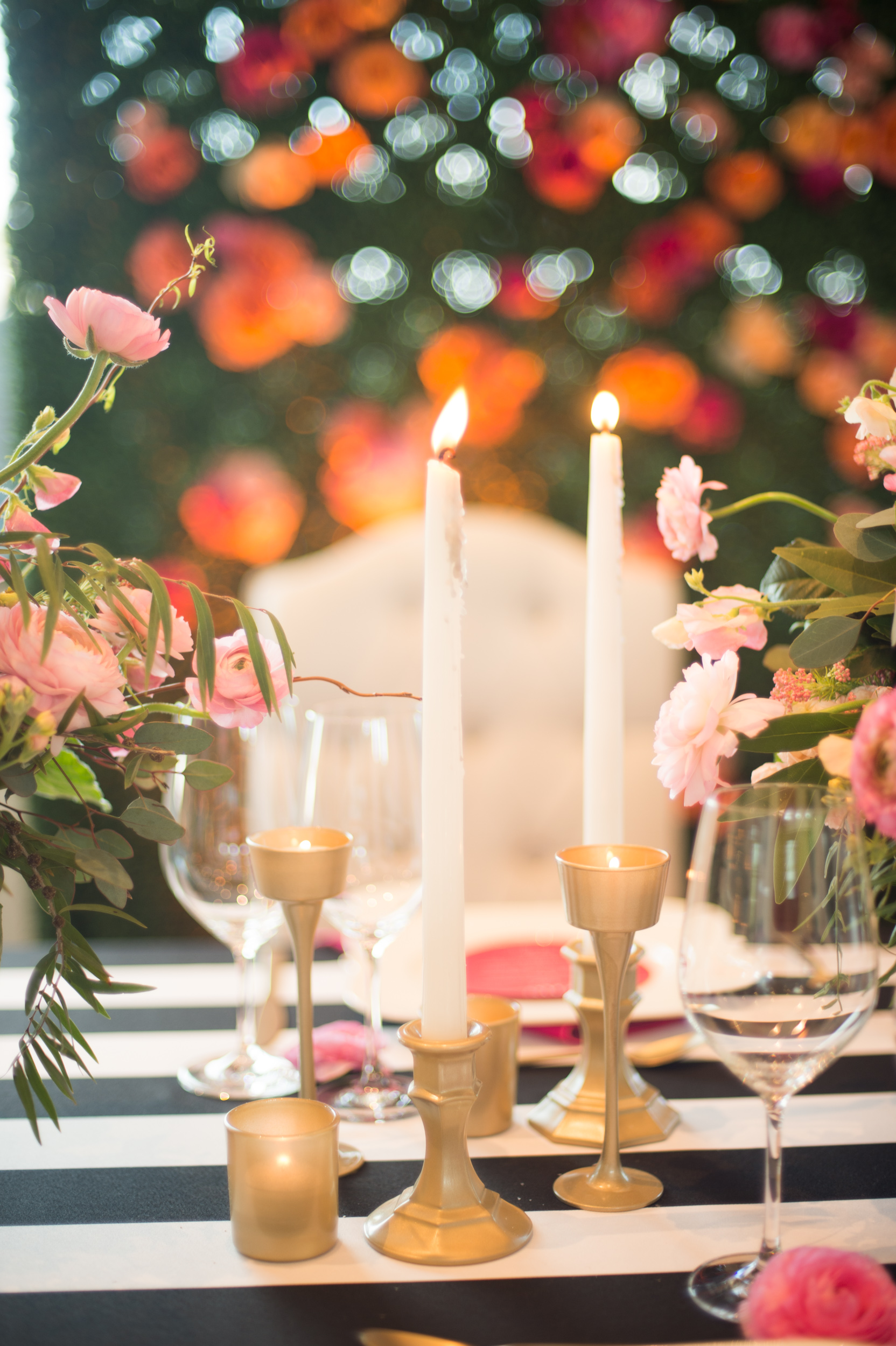 "Chic Parisian ""Le Jardin"" Inspired Tablescape 