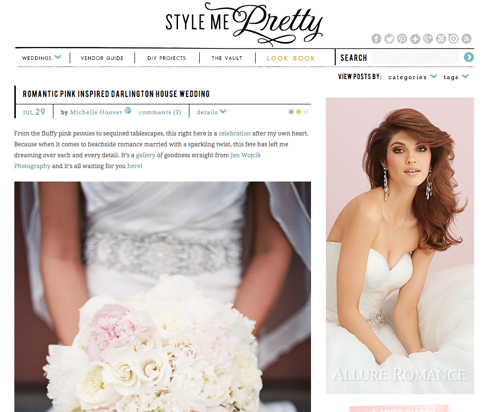 Featured on Style Me Pretty | Michelle Garibay Events