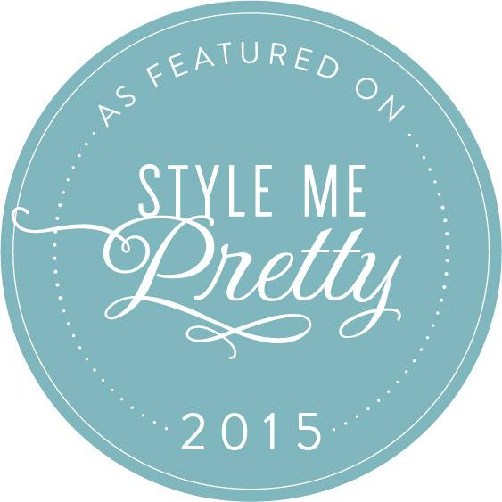 Featured on Style Me Pretty 2015 Badge