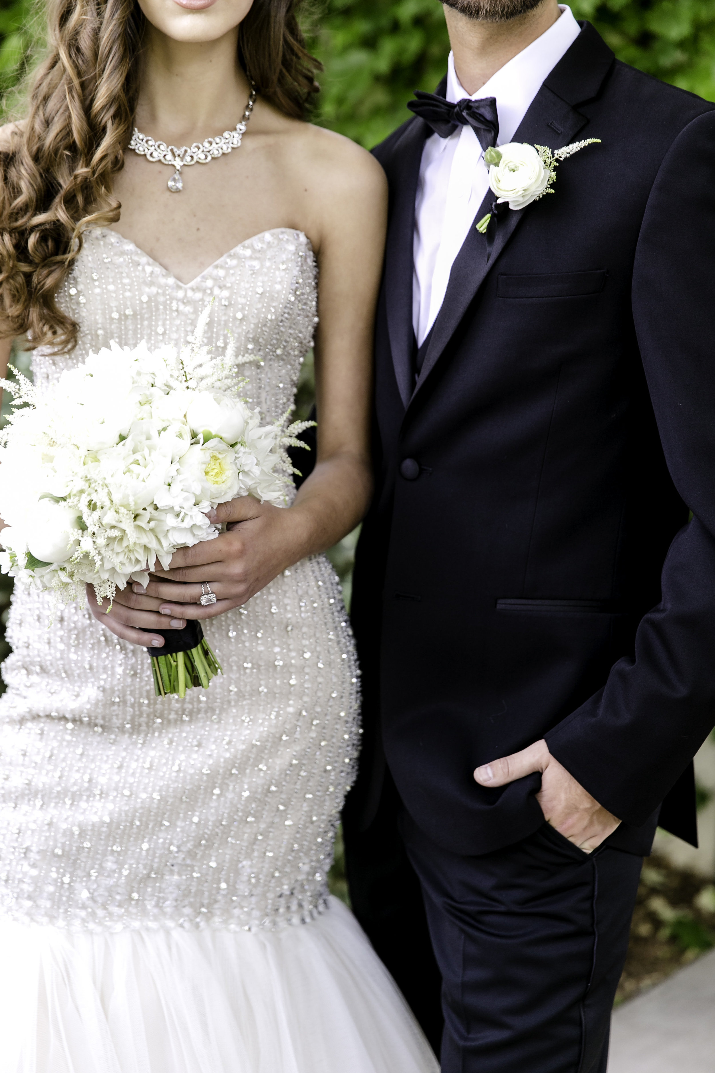 White Glamour | Michelle Garibay Events | Ponte Vineyard Inn