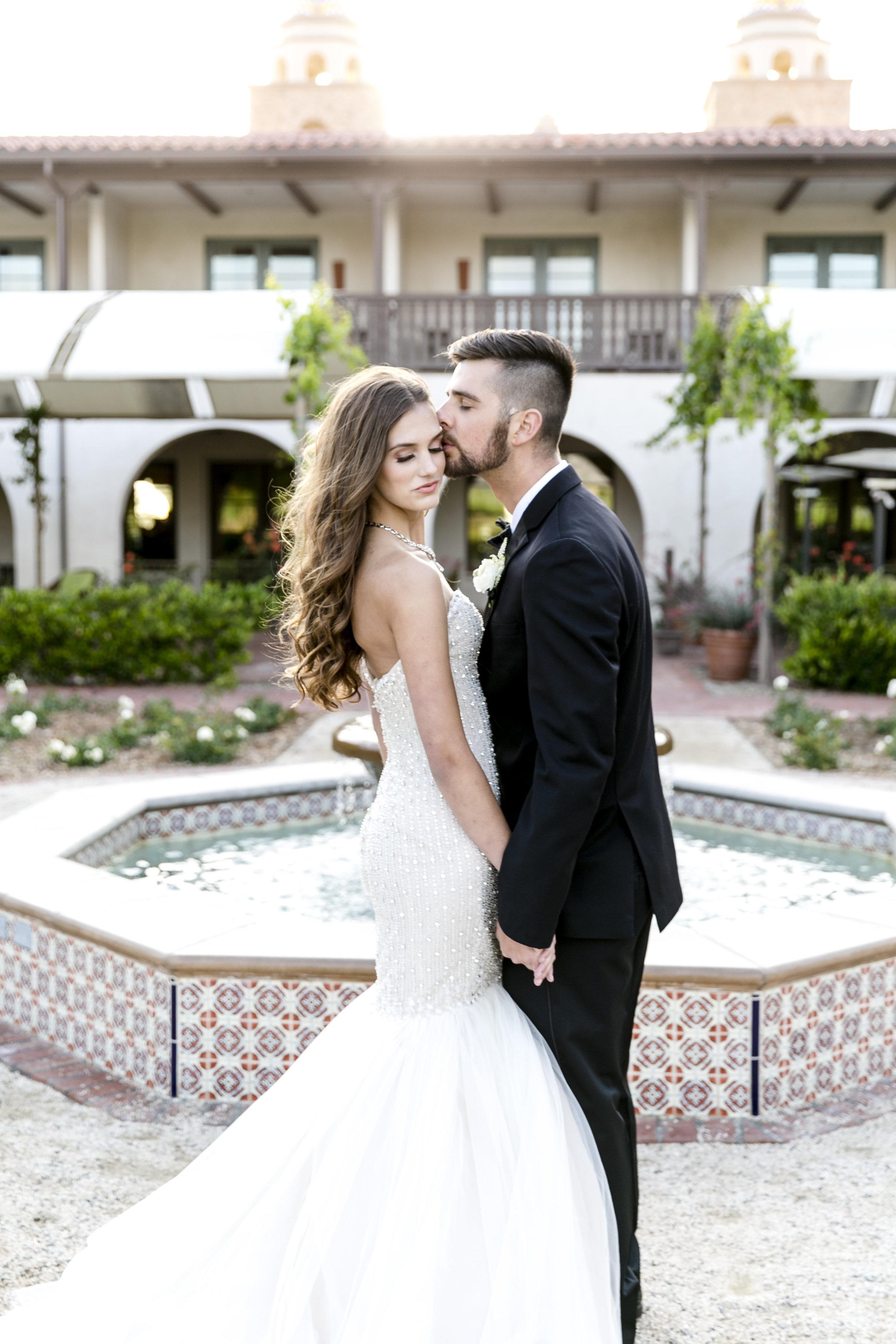 Glamoros White Wedding | Michelle Garibay Events | Ponte Vineyard Inn