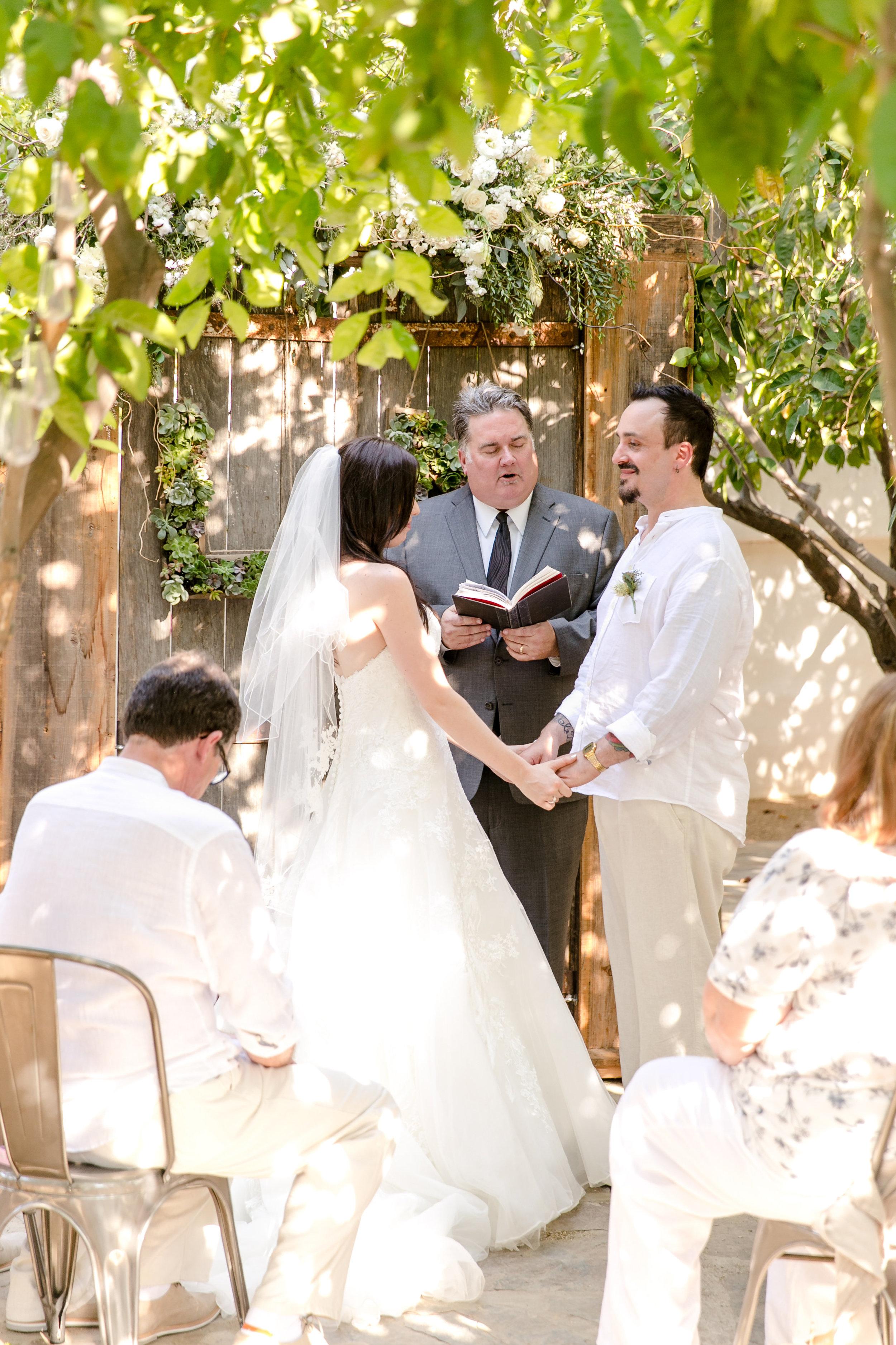 Rustic Romantic Palm Springs Wedding | Michelle Garibay Events