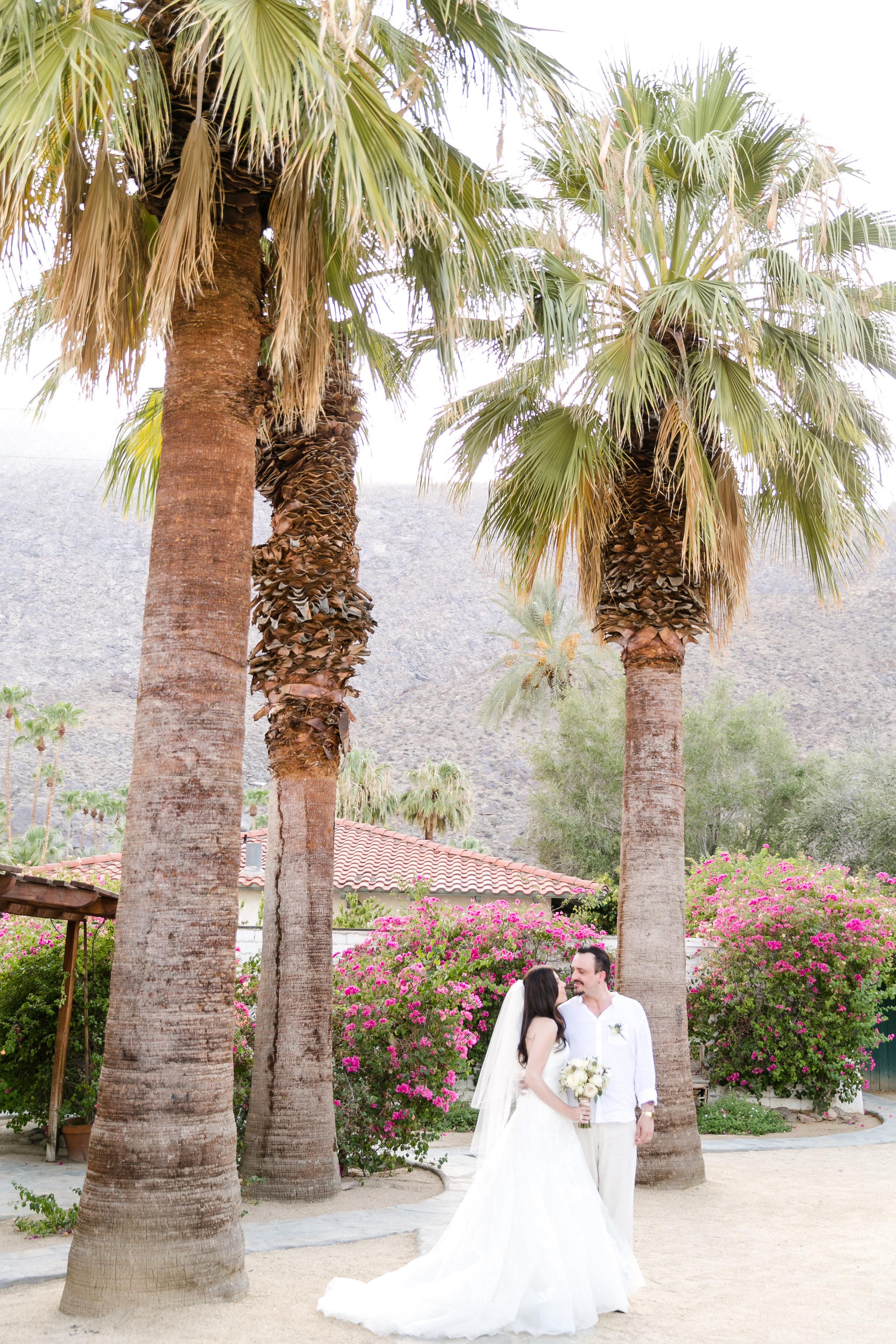 Romantic Palm Springs Wedding | Michelle Garibay Events
