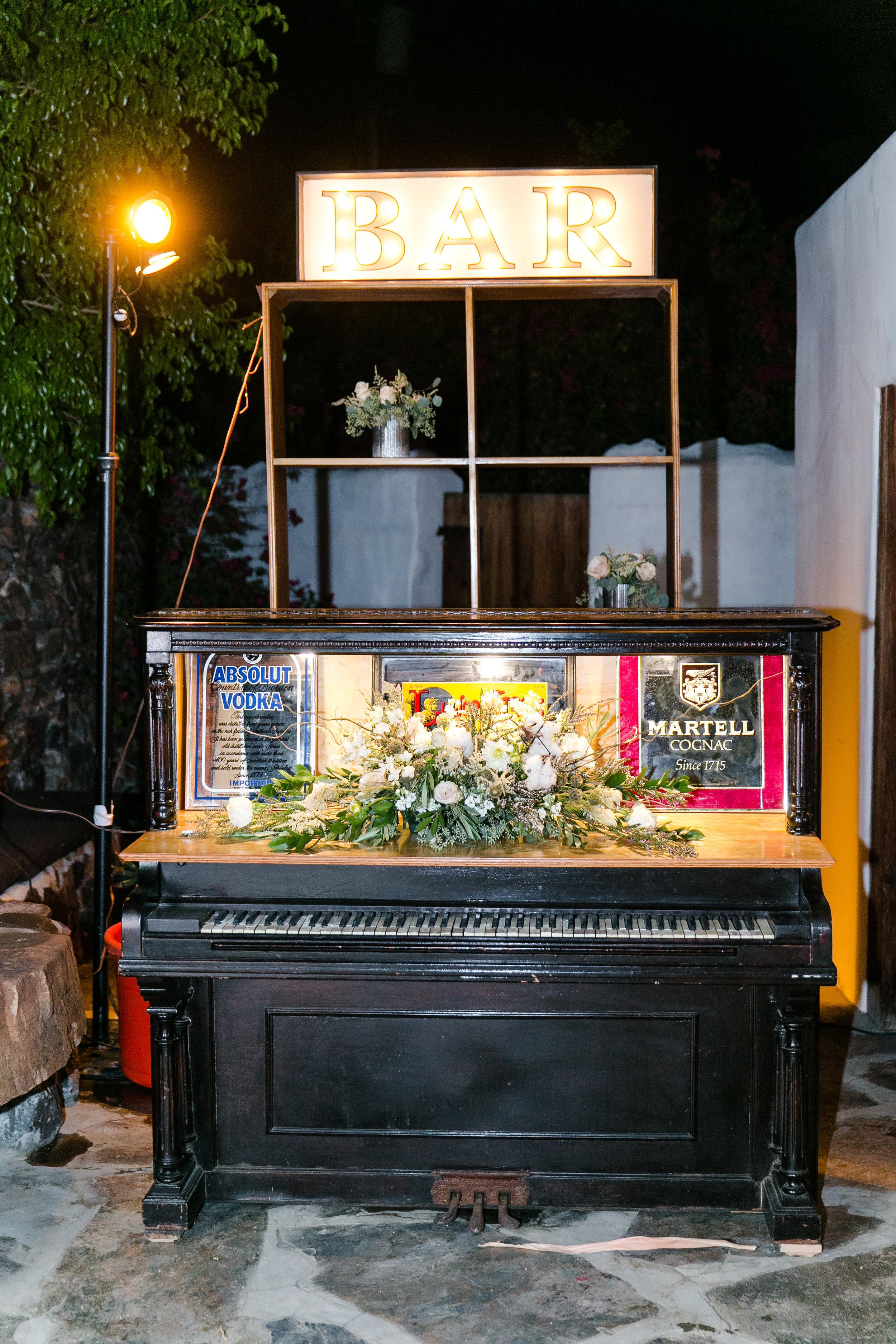 Vintage Piano Bar | Michelle Garibay Events