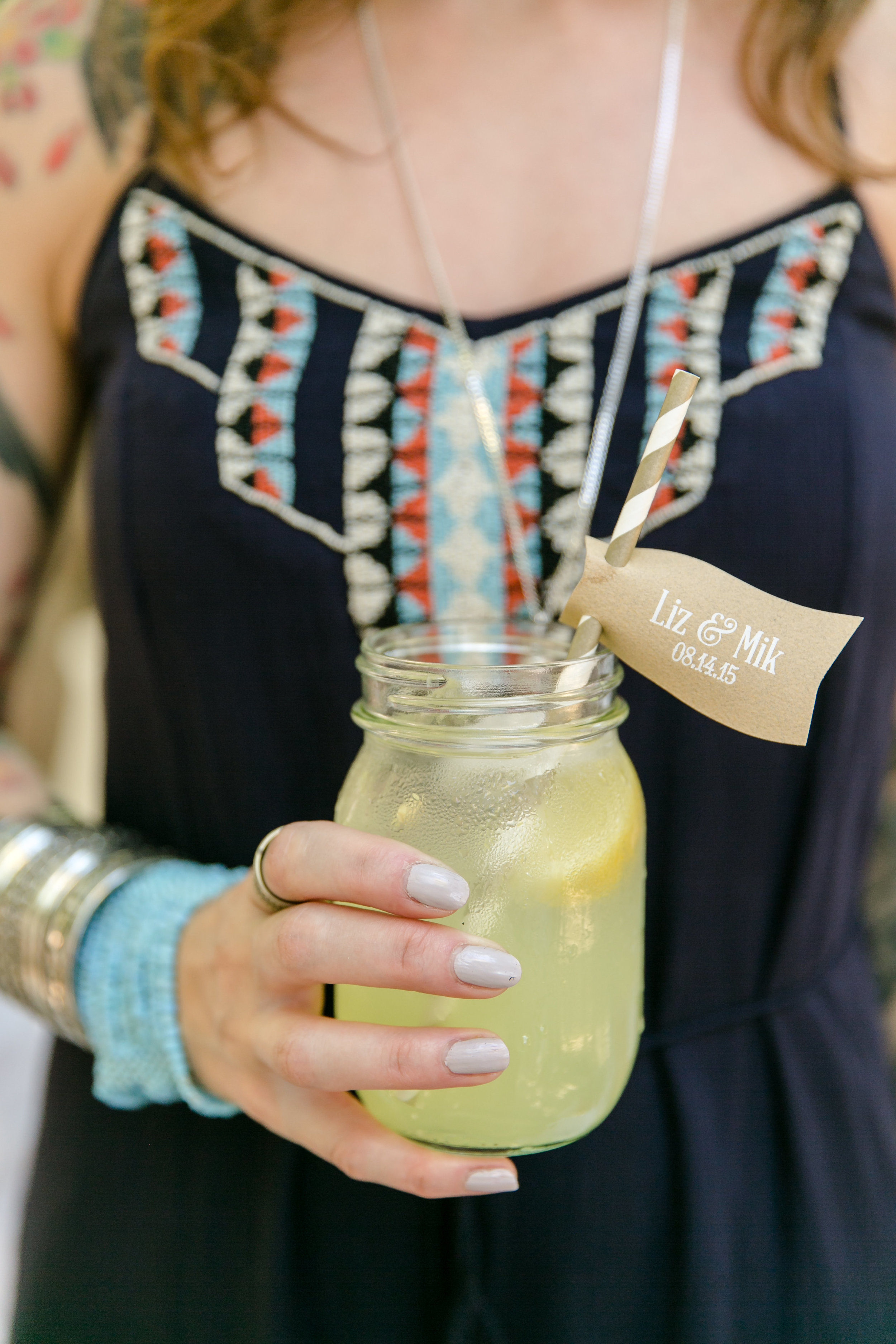 Personalized Drink Flag | Michelle Garibay Events