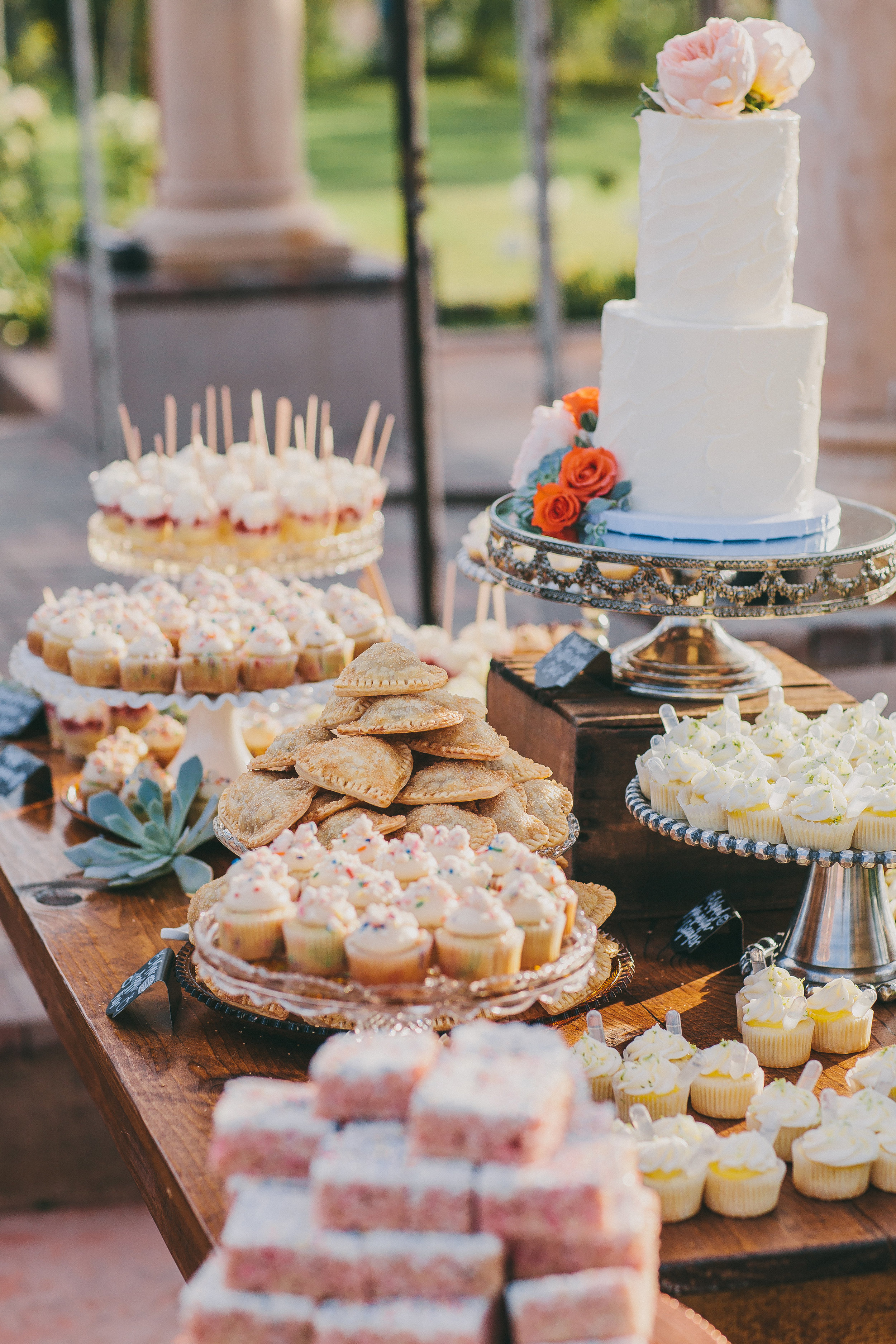 Mount Palomar Winery Dessert Bar   Michelle Garibay Events   The Sugar Divaz