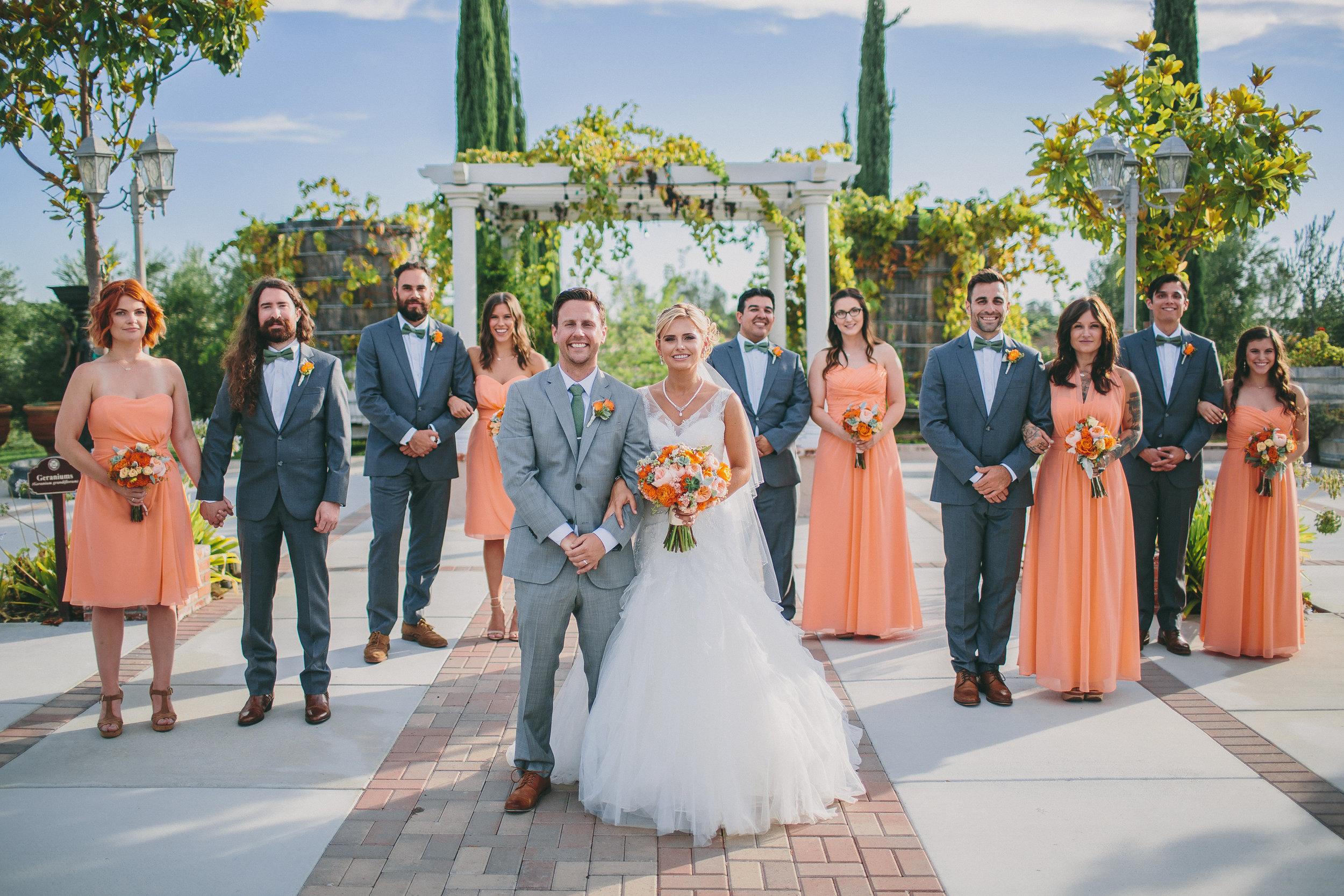 Romantic Mount Palomar Winery Wedding   Michelle Garibay Events