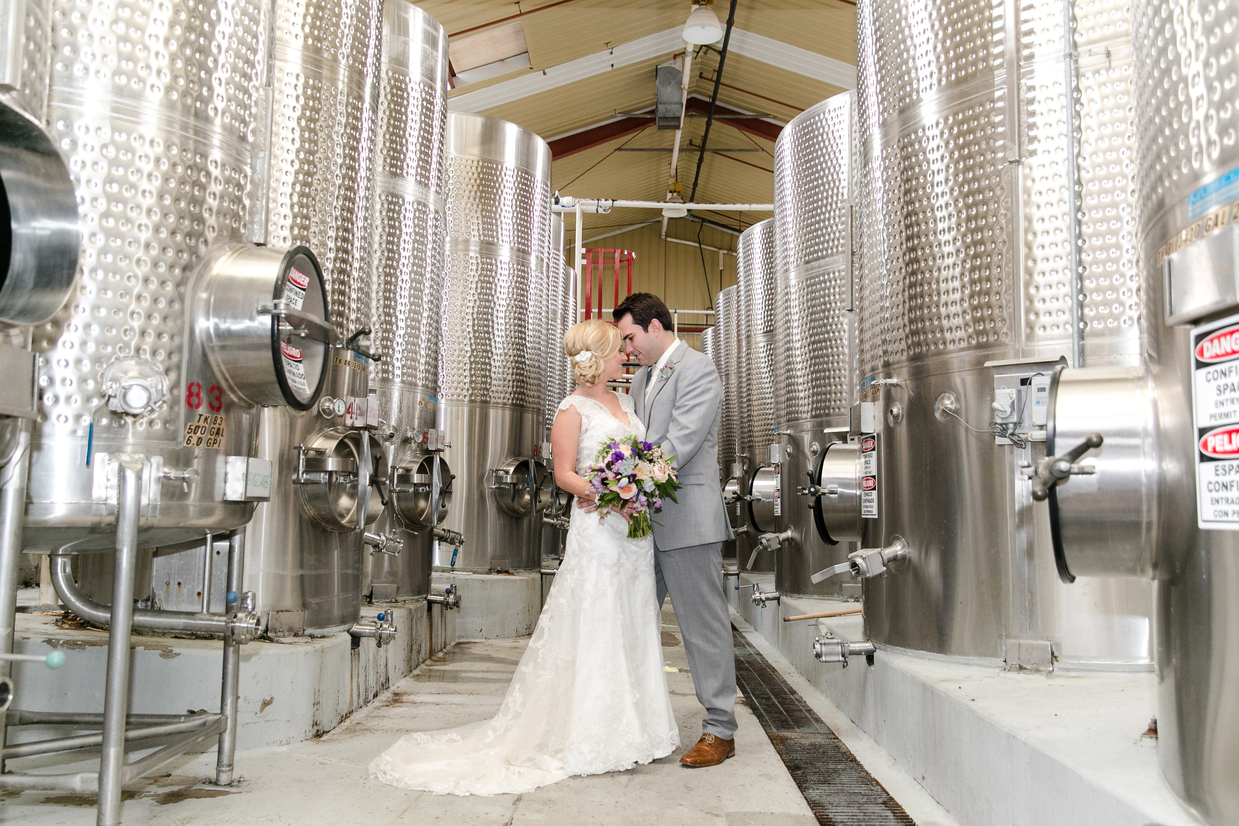 Barrel Room Romance | Michelle Garibay Events | Leah Marie Photography
