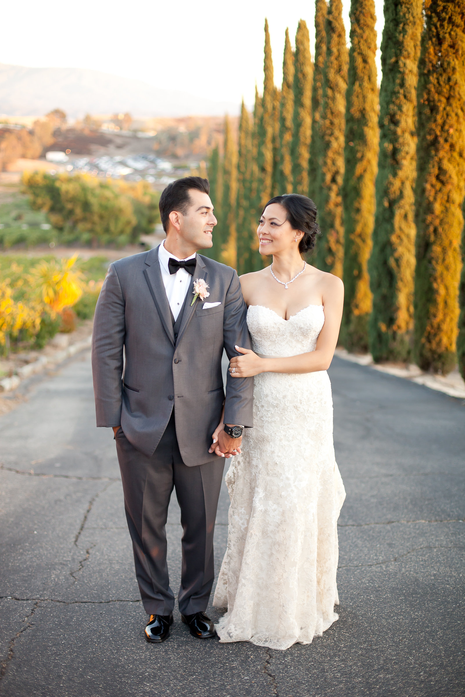 Classically Styled Bride and Groom | Michelle Garibay Events