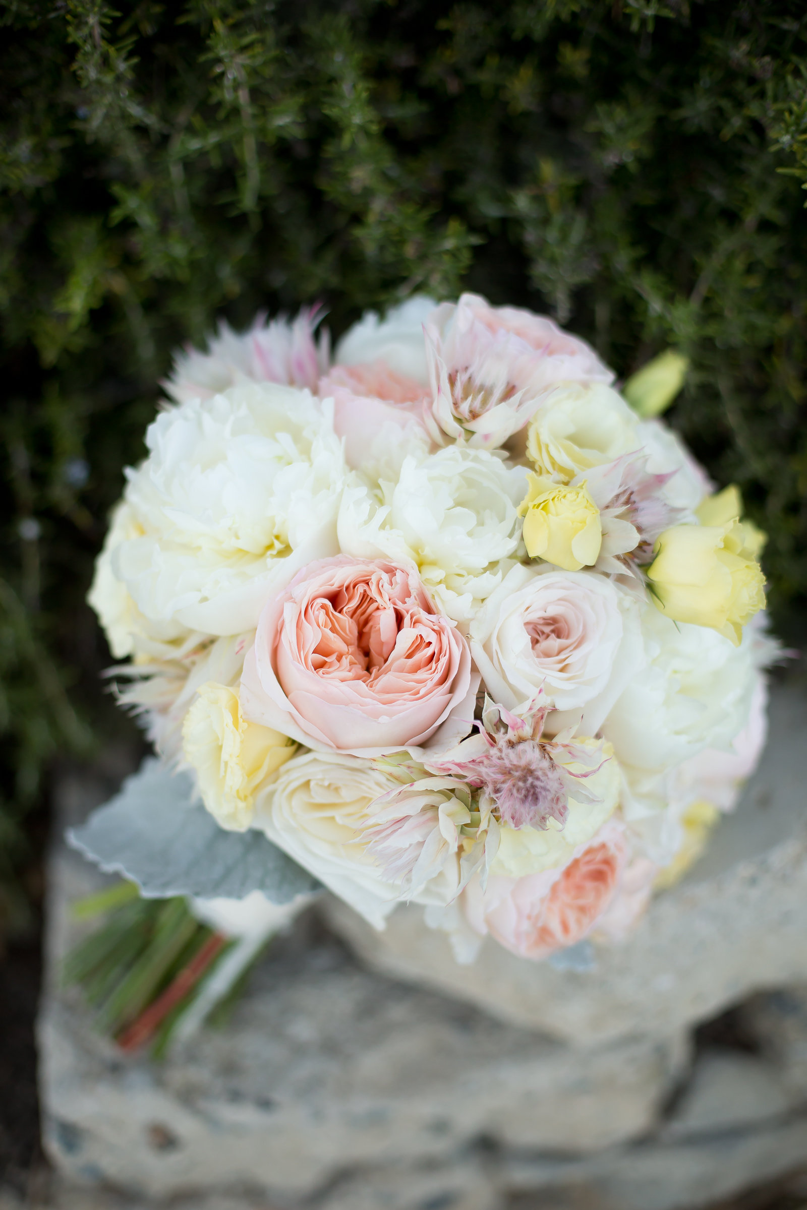 Pastel Bridal Bouquet | Michelle Garibay Events