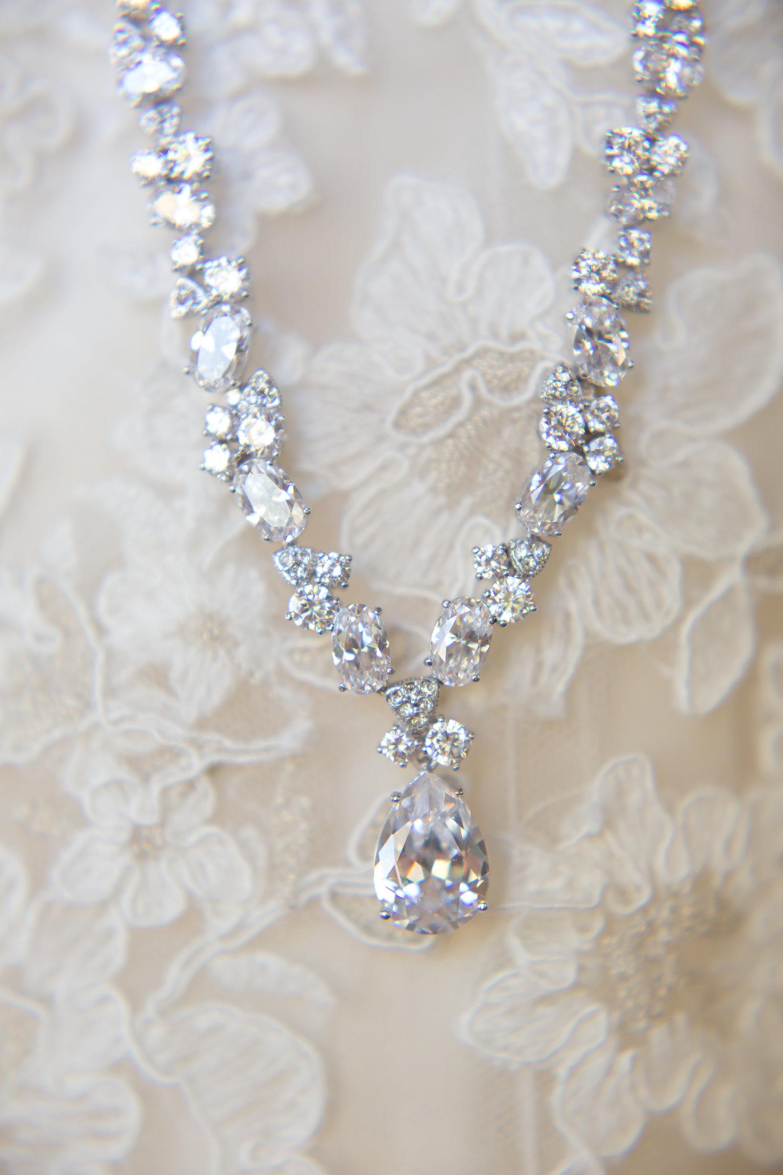 Diamond Drop Necklace | Michelle Garibay