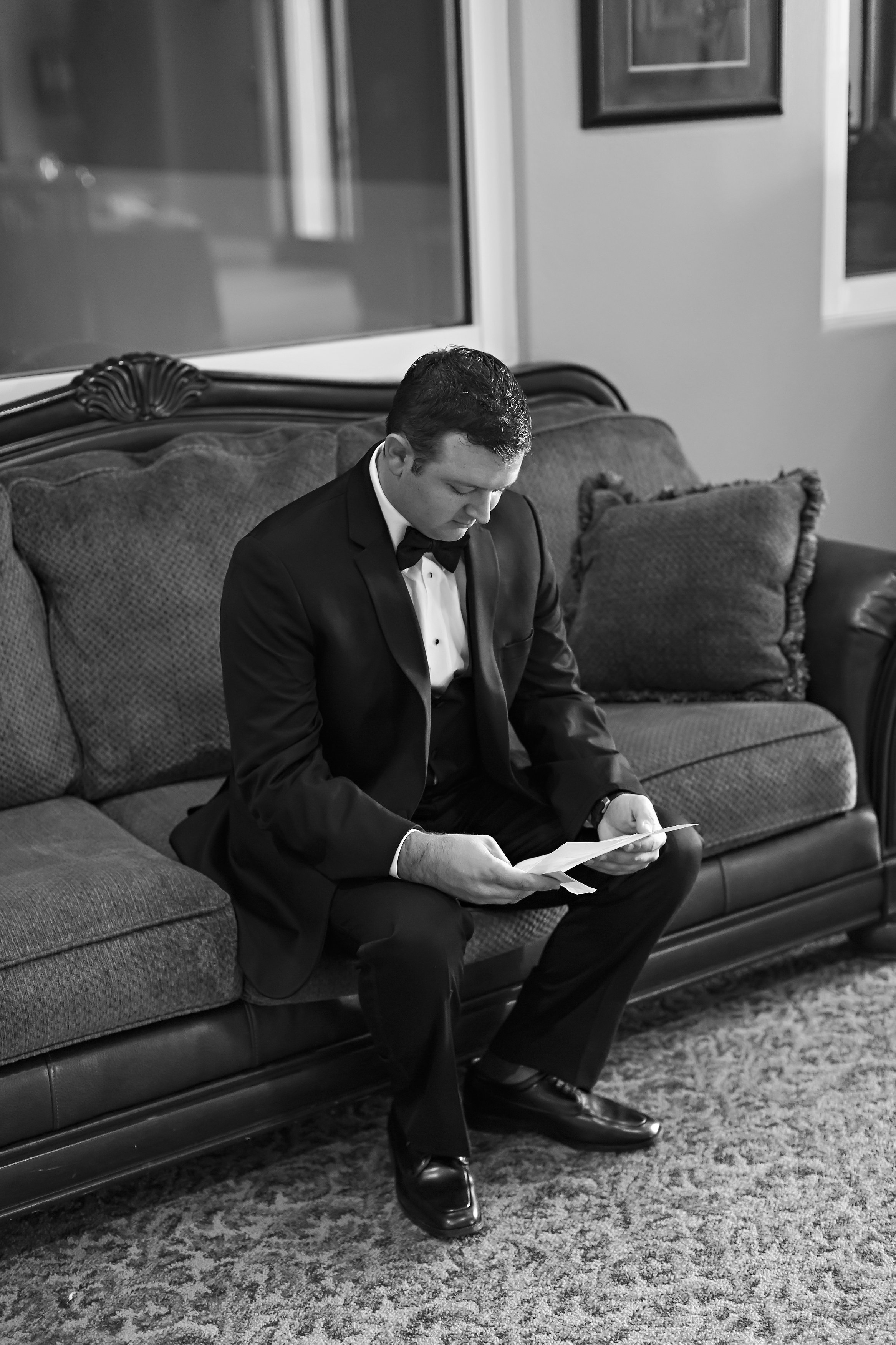 Love Letter to Groom | Temecula Private Estate Wedding | Michelle Garibay Events
