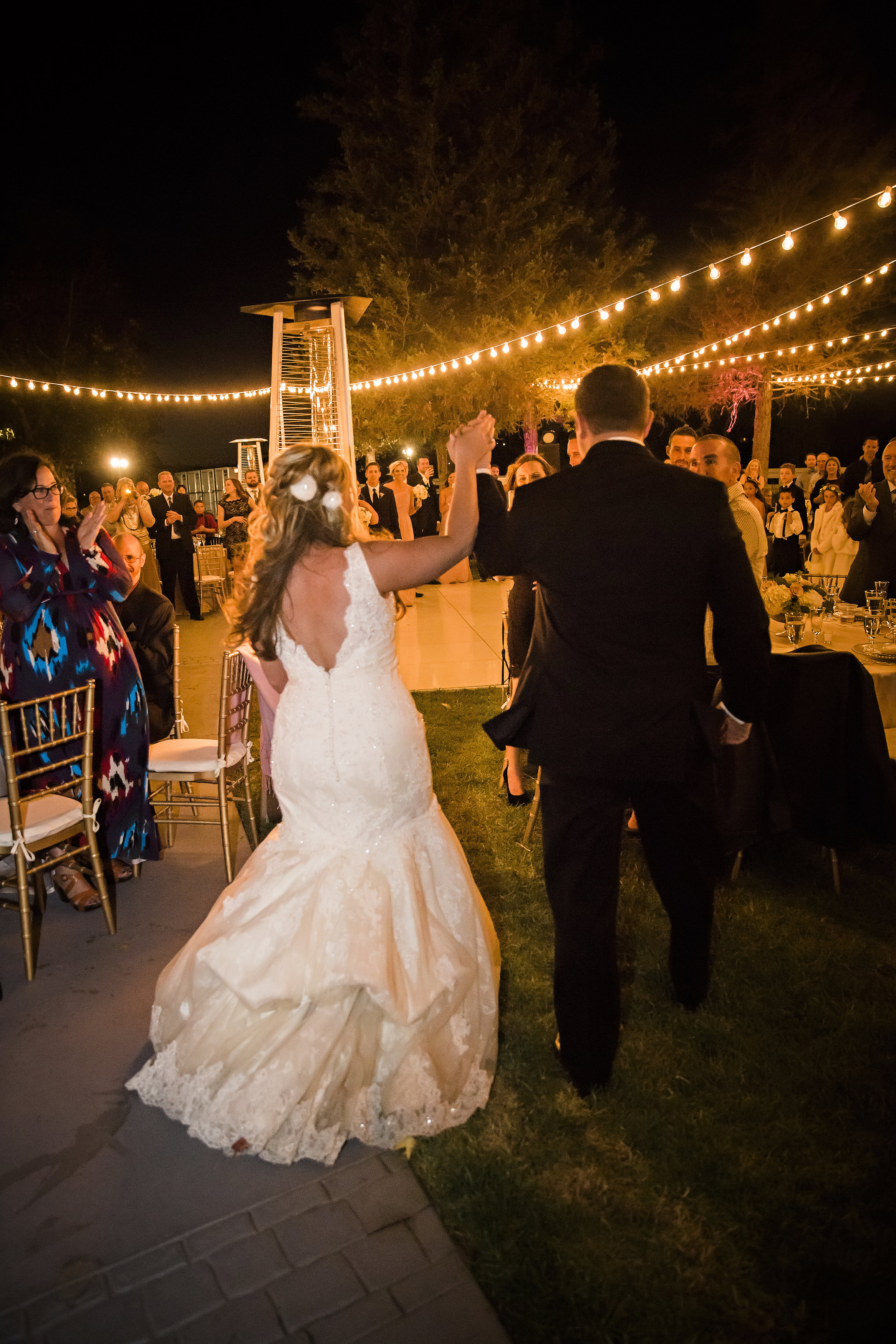 Bride and Groom Grand Entrance | Temecula Private Estate Wedding | Michelle Garibay Events