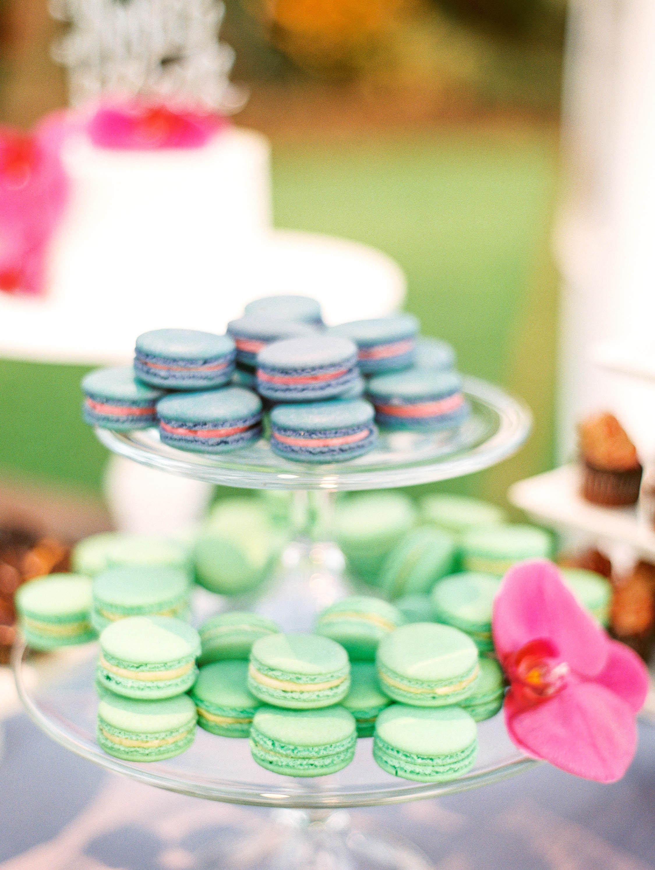 Michelle Garibay Events | Elegant Oahu Wedding | Loulu Palm Estate | Destination Wedding Planner | Dessert Bar