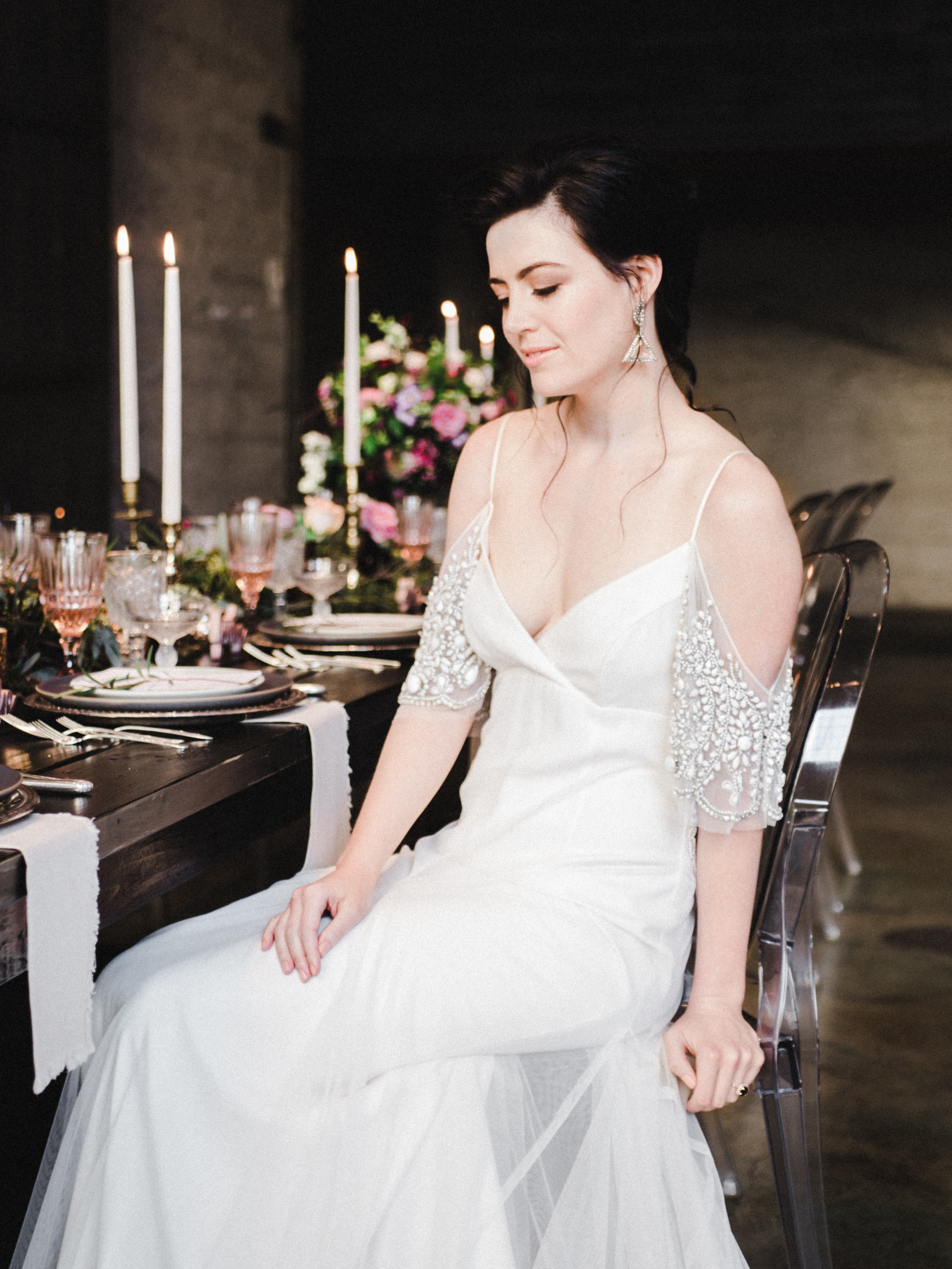 Ethereal and Romantic Styled Shoot at Luce Loft | Photography By Meghan Elise | Michelle Garibay Events