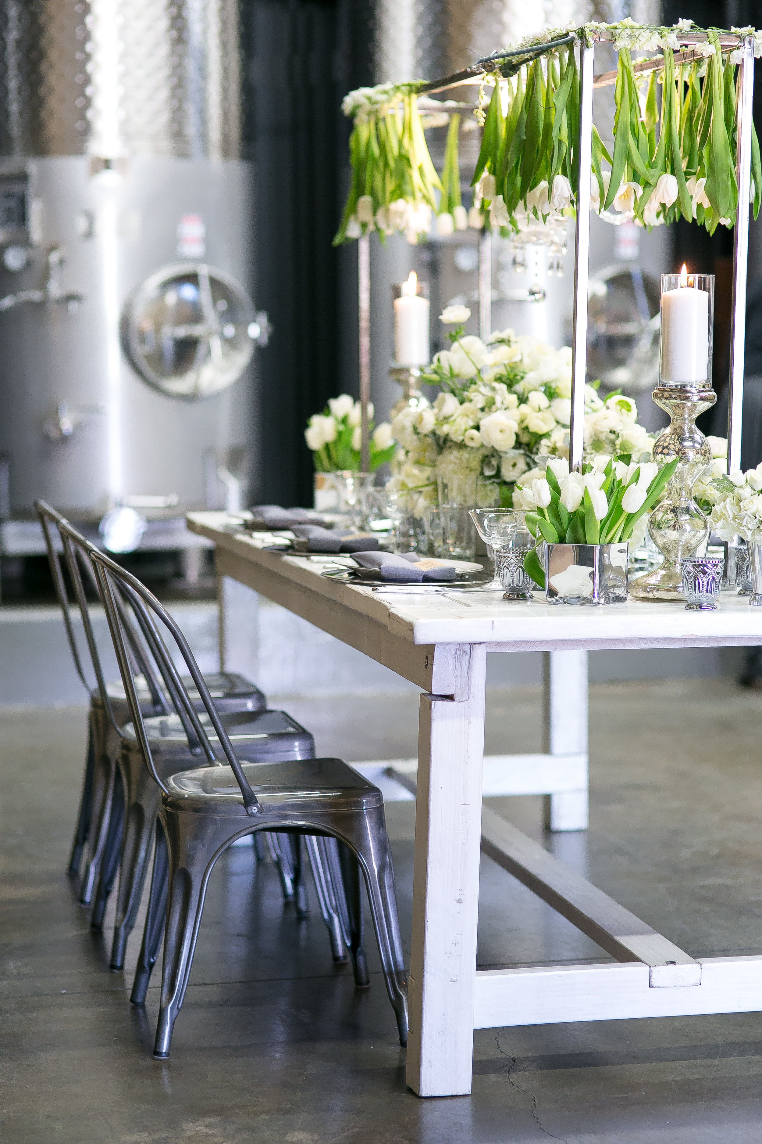 Vintage-Industrial Styled Shoot at Wiens Family Cellars | Photoquest Studio | Cara Goset of Michelle Garibay Events