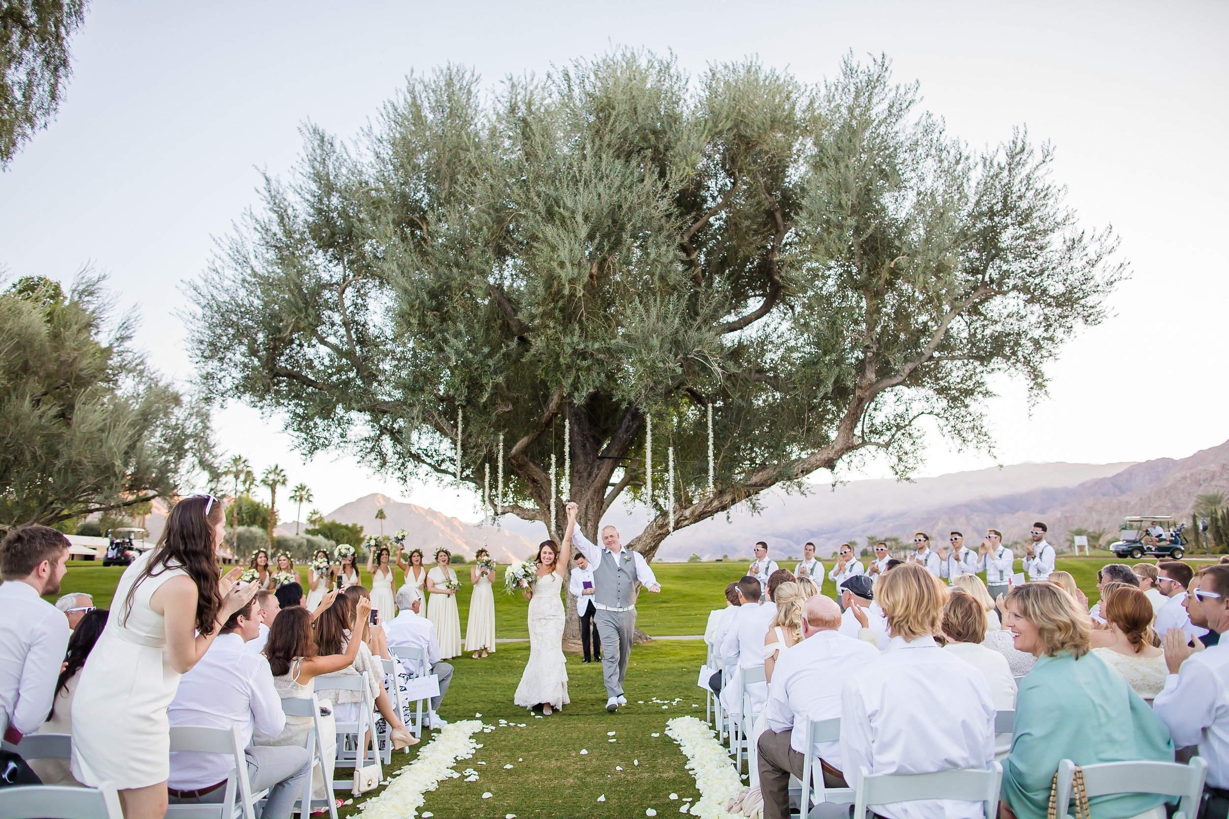 All White La Quinta Wedding | Kathleen Geiberger Artistic Photography | Michelle Garibay Events