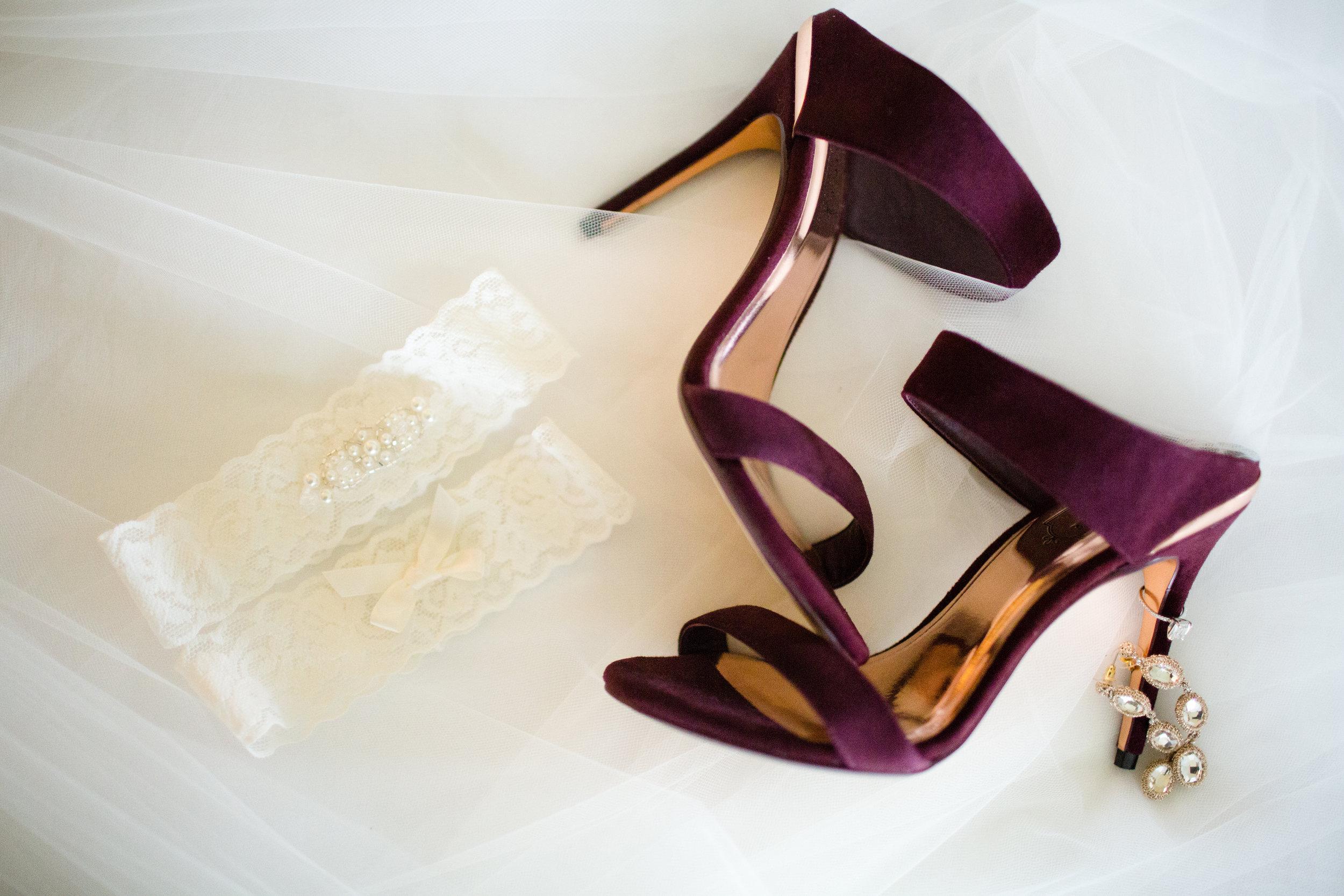Rainy Day Jewel-Tone Wedding at Temecula Creek Inn | Katherine Beth Photography