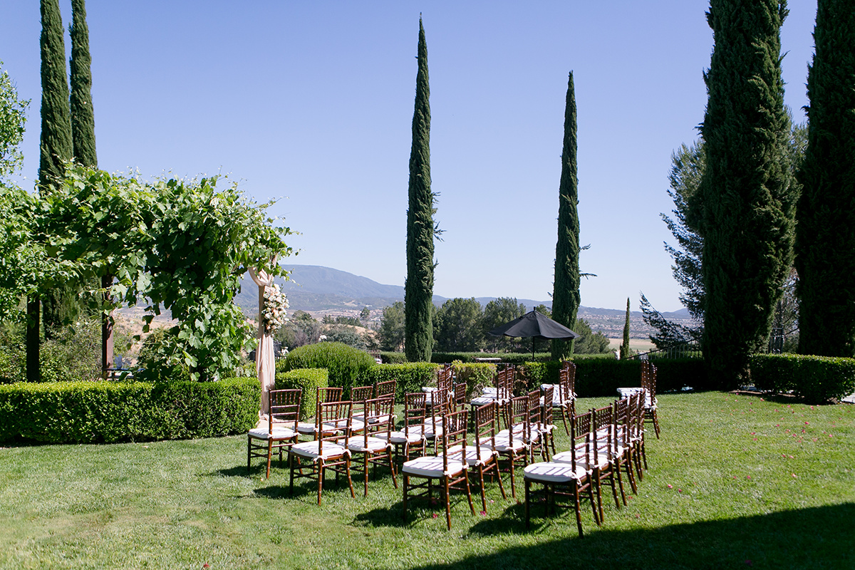 Temecula Private Estate Wedding in Rose Gold | The Studio by LMP | Michelle Garibay Events