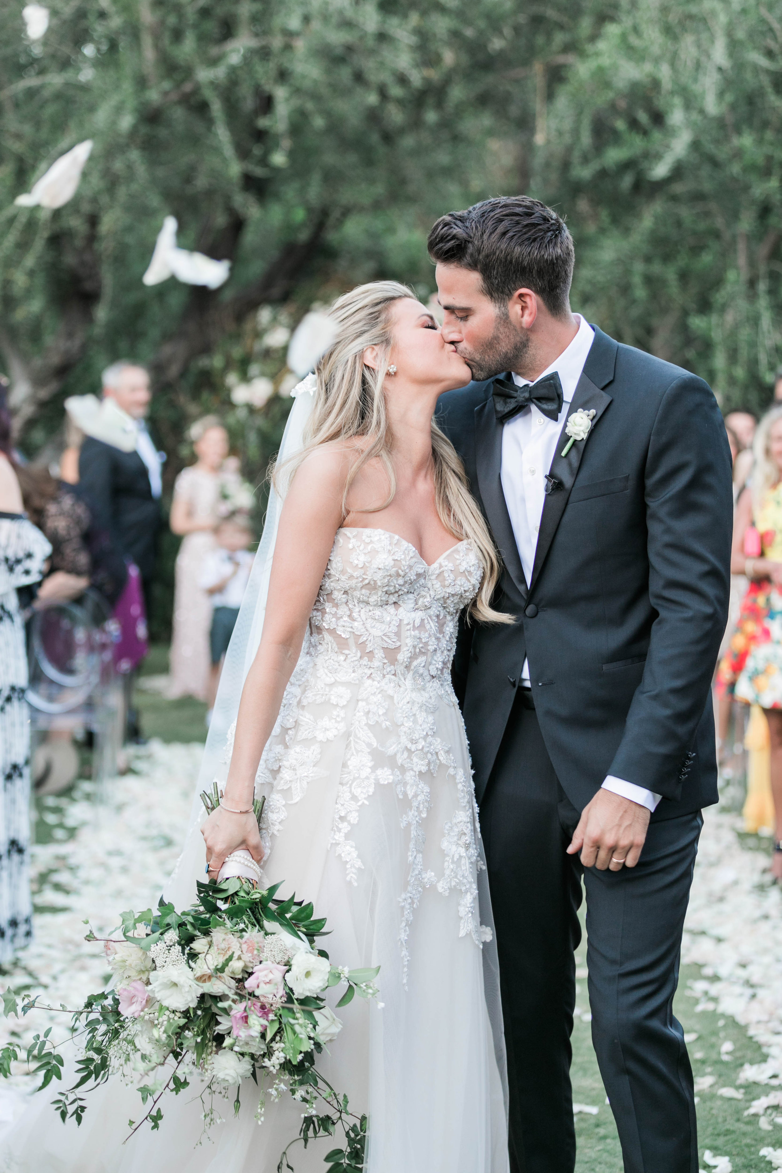 Amber Lancaster From The Price Is Right actress amber lancaster's parker palm springs wedding