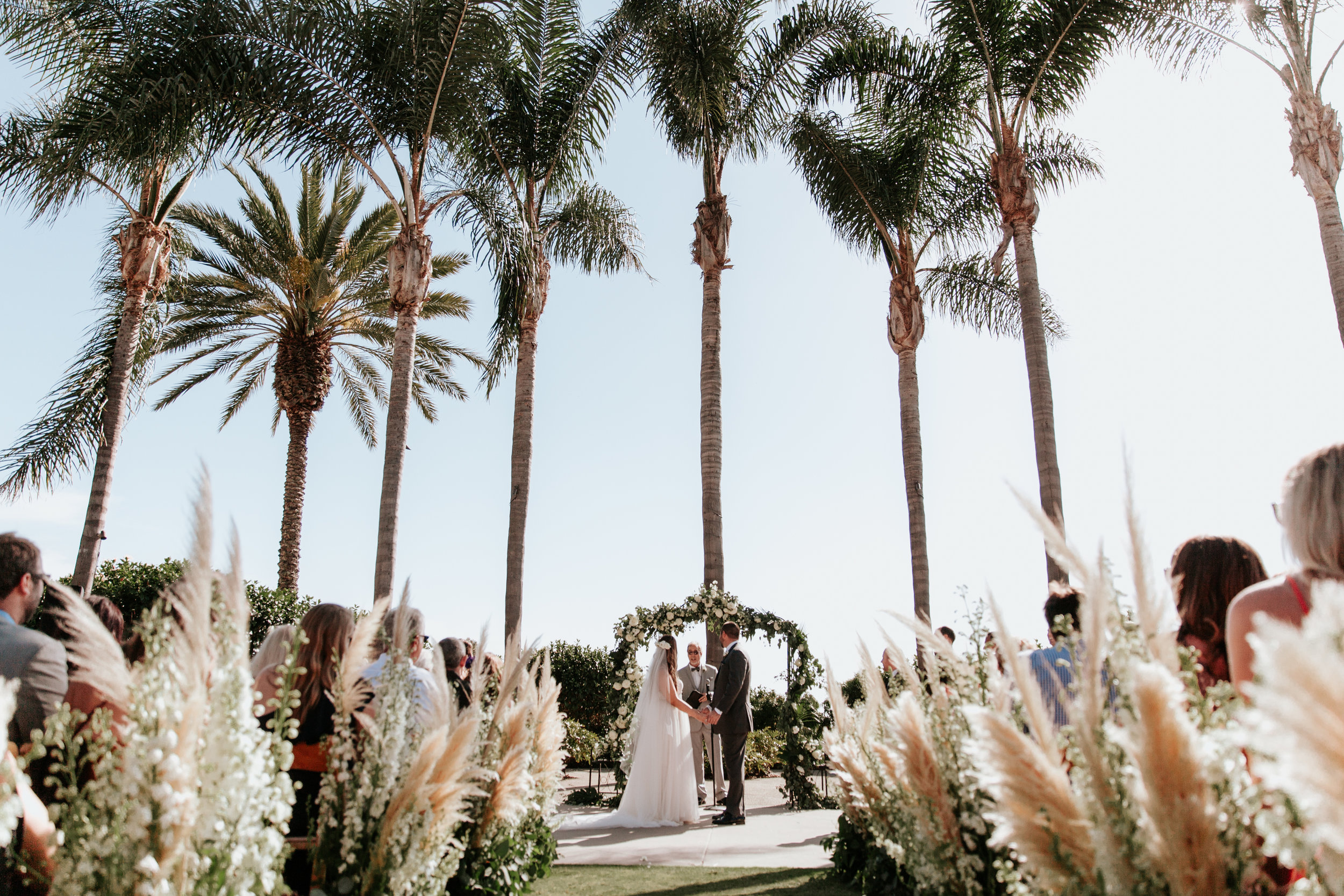Elegant Boho Wedding | Park Hyatt Aviara | San Diego Wedding | Tiana Loyd-Michelle Garibay Events | Paige Nelson Photography