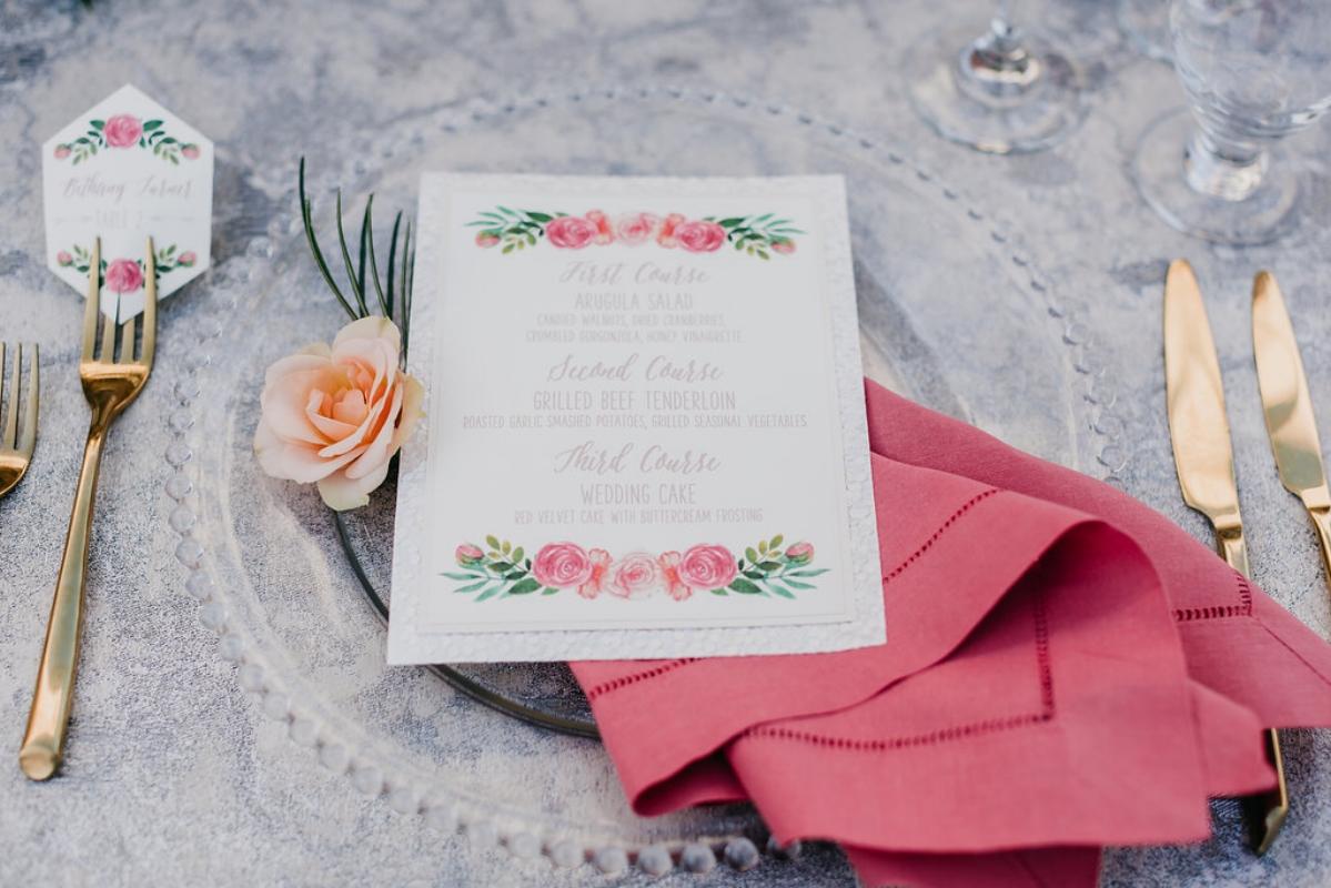 Omni La Costa San Diego Wedding in Peach and Yellow | Honey Phorographs | Michelle Garibay Events