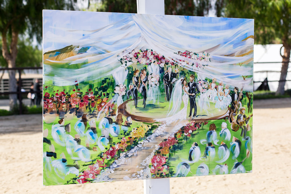 Brian Leahy Photo | Michelle Garibay Events | Luxury Temecula Wedding | La La Land Purple Wedding | Hollywood Glam Wedding | Live Painter
