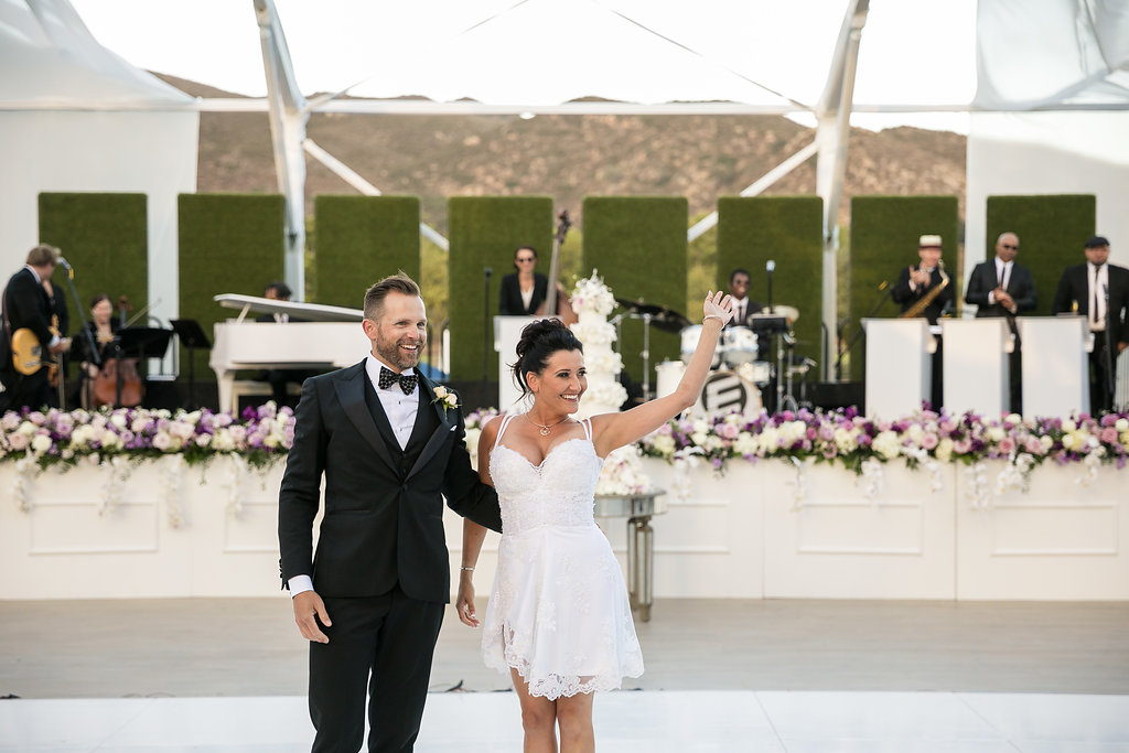 Brian Leahy Photo | Michelle Garibay Events | Luxury Temecula Wedding | La La Land Purple Wedding | Hollywood Glam Wedding