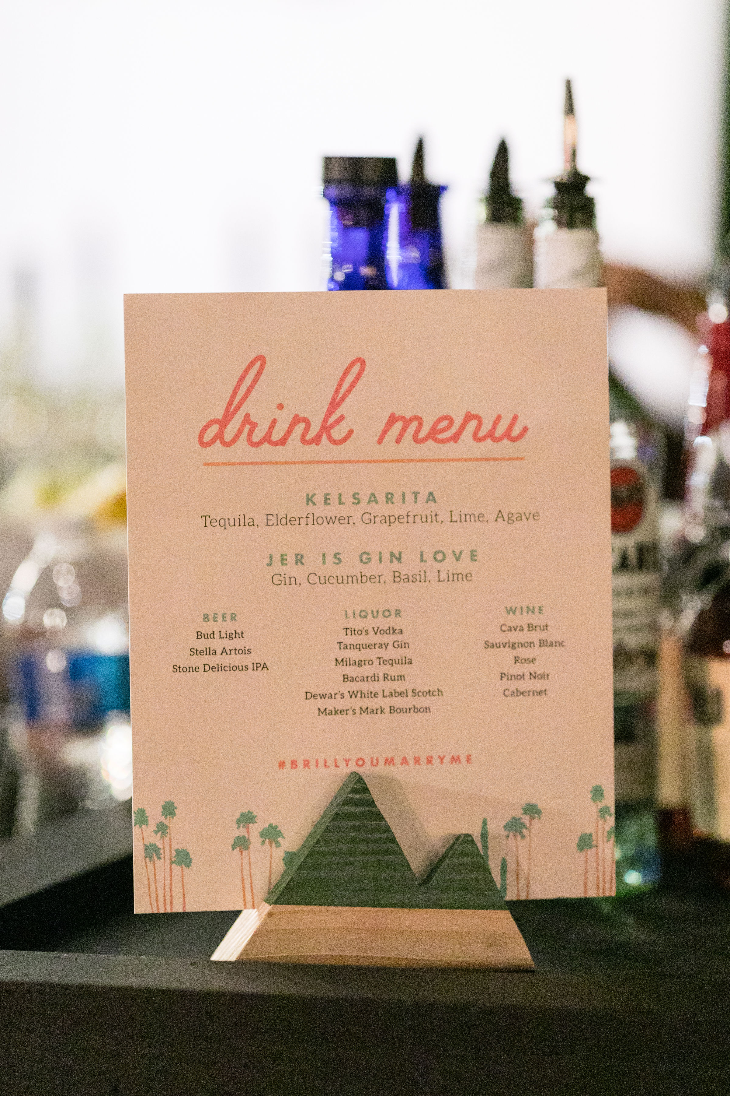 Vibrant Jungle in the Desert Wedding in Palm Springs | Sparkle Photography | Michelle Garibay Events