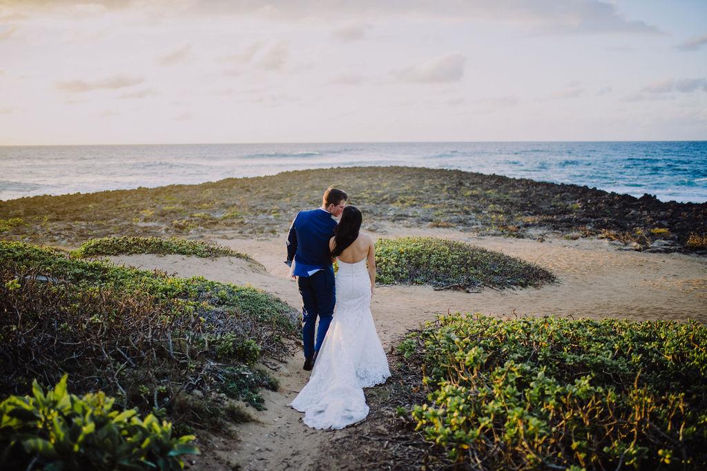 Oahu Hawaii Wedding | Turtle Bay Resort | Michelle Garibay Events | Christie Pham Photography