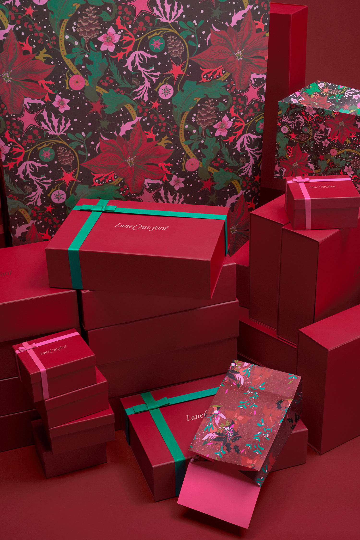 Lane Crawford 2016 Christmas Packaging