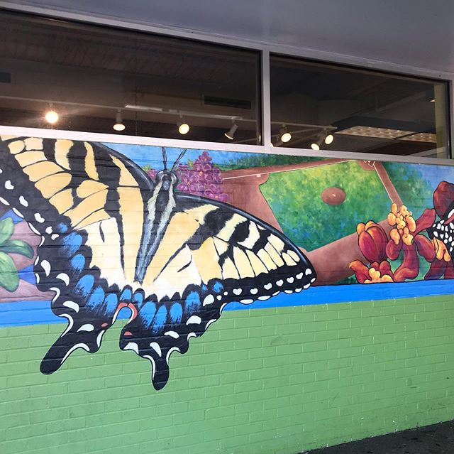 The Willy Street Coop Mural is going up. #murals #danearts