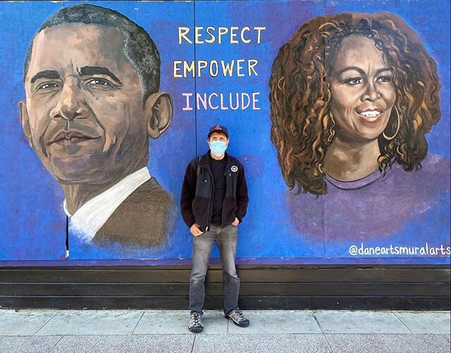 Wisconsin Mural of Barack and Michelle Obama Vandalized Beyond Repair