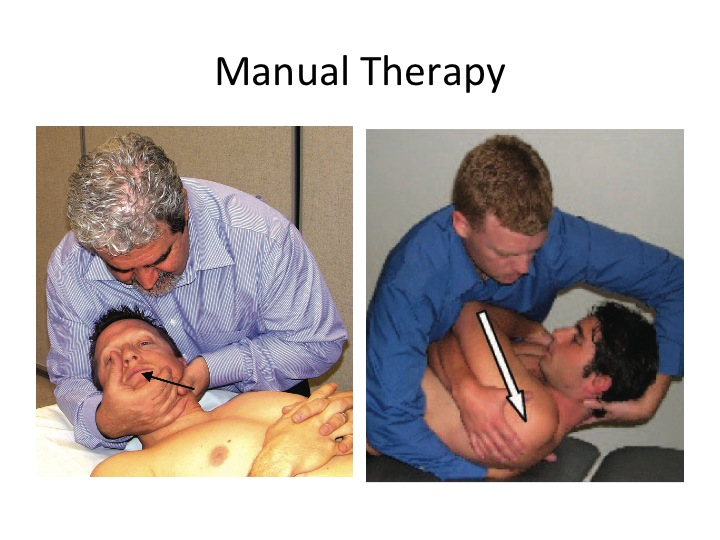 Neck and Arm Pain Physical Therapy Manual Treaments