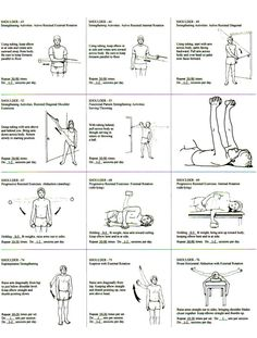 generic physical therapy exercises