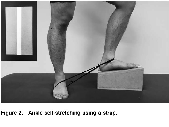 boulder physical therapy ankle mobility with strap