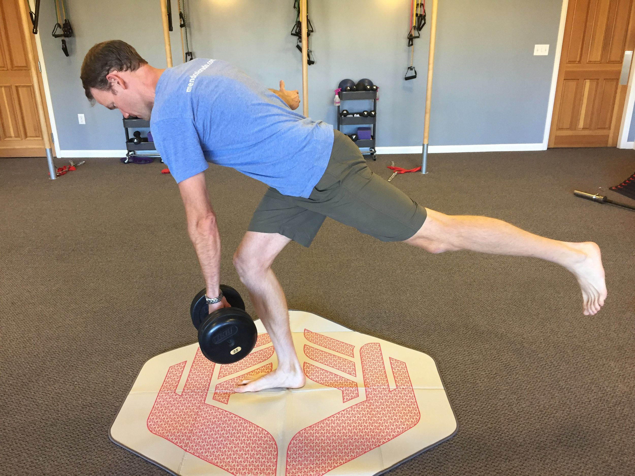 single leg deadlift-running-strengthening