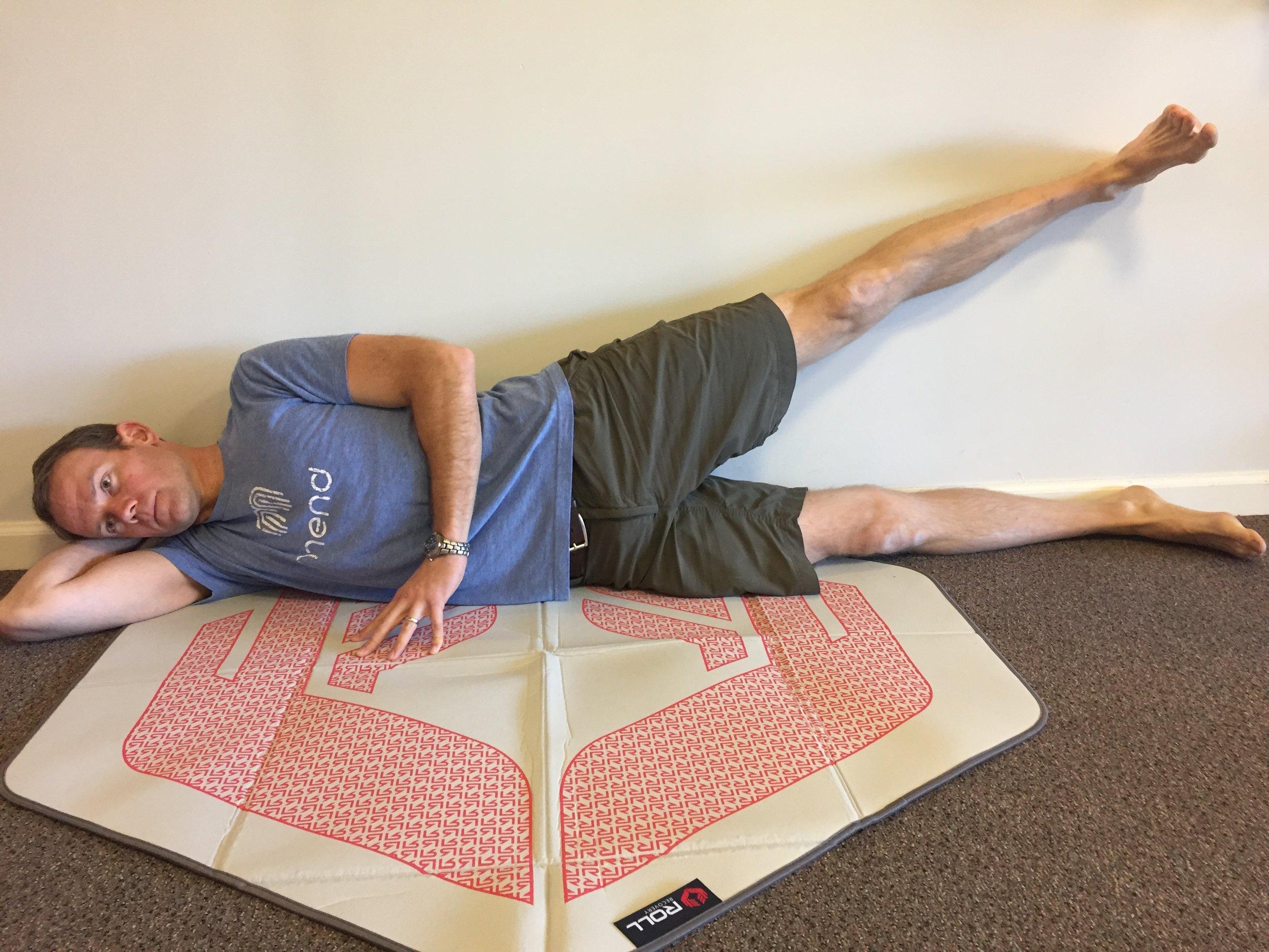 Running-strength training-hip abduction