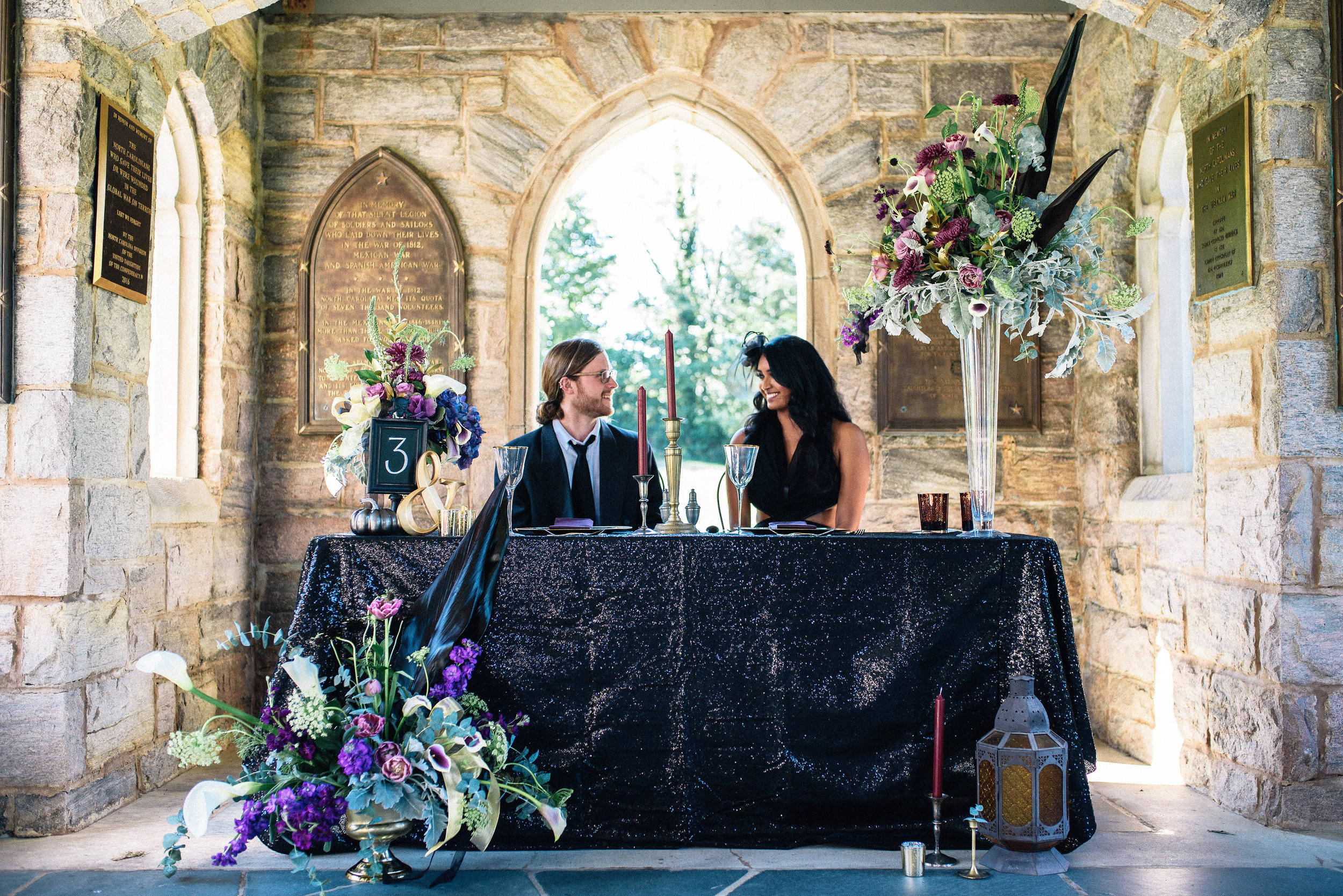 Raleigh Wedding Photographer - Halloween Wedding Inspiration