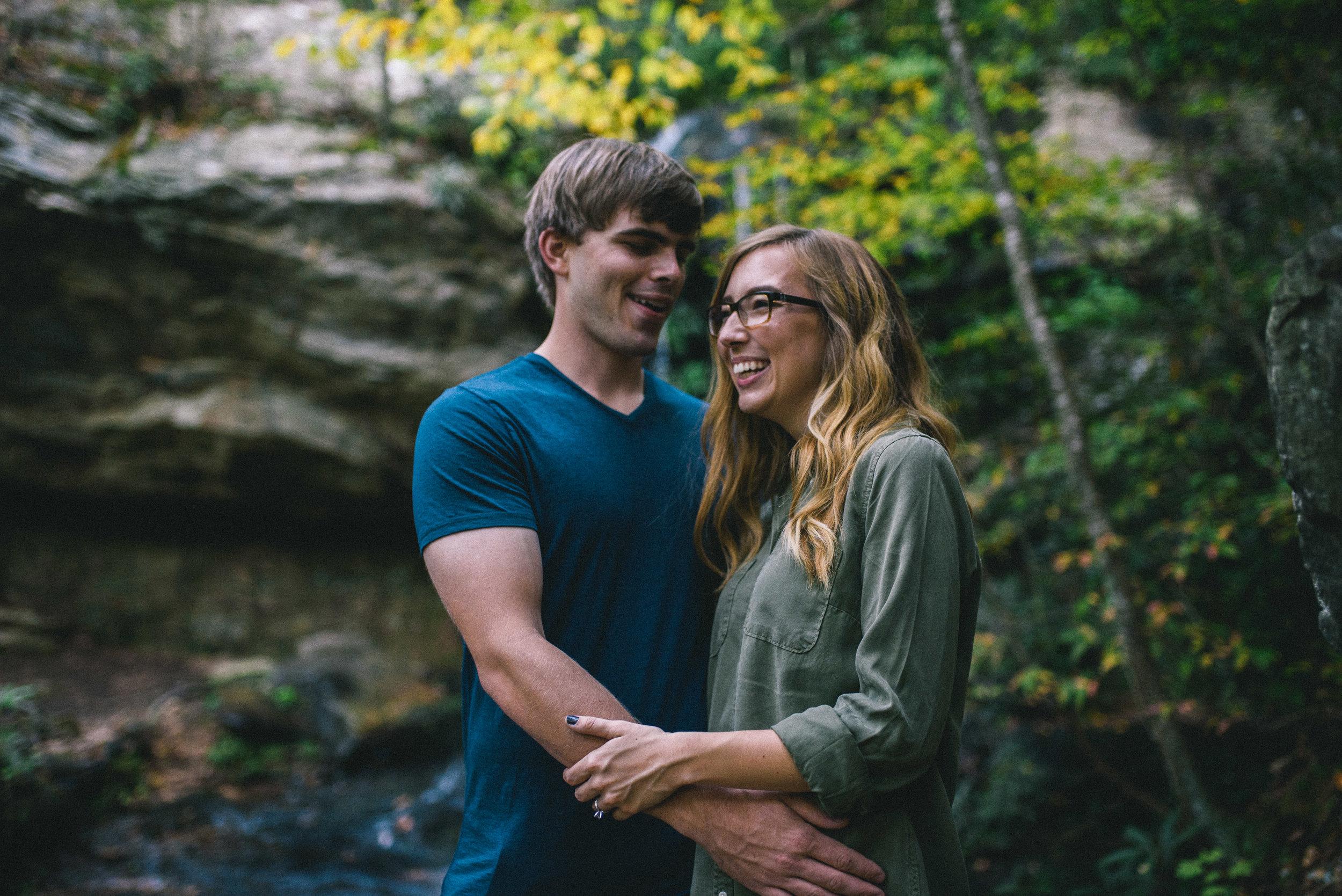 Hanging Rock Engagement - North Carolina Wedding Photographer