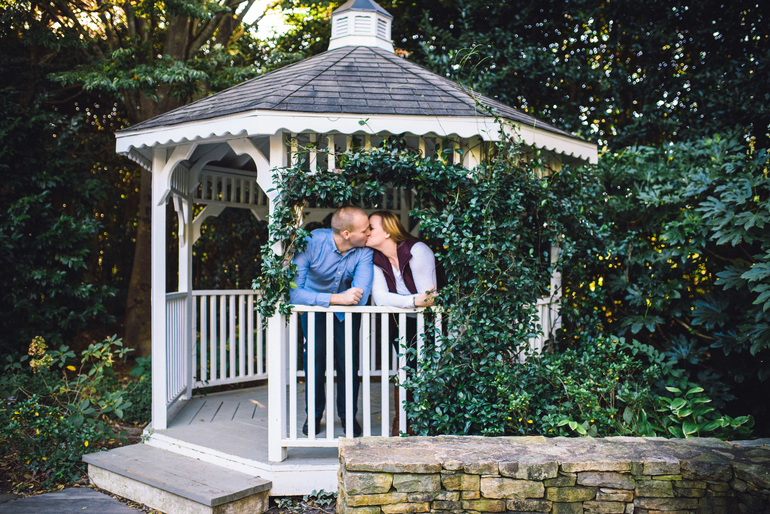 Raleigh Engagement Photographer - JC Raulston Arboretum Engagement