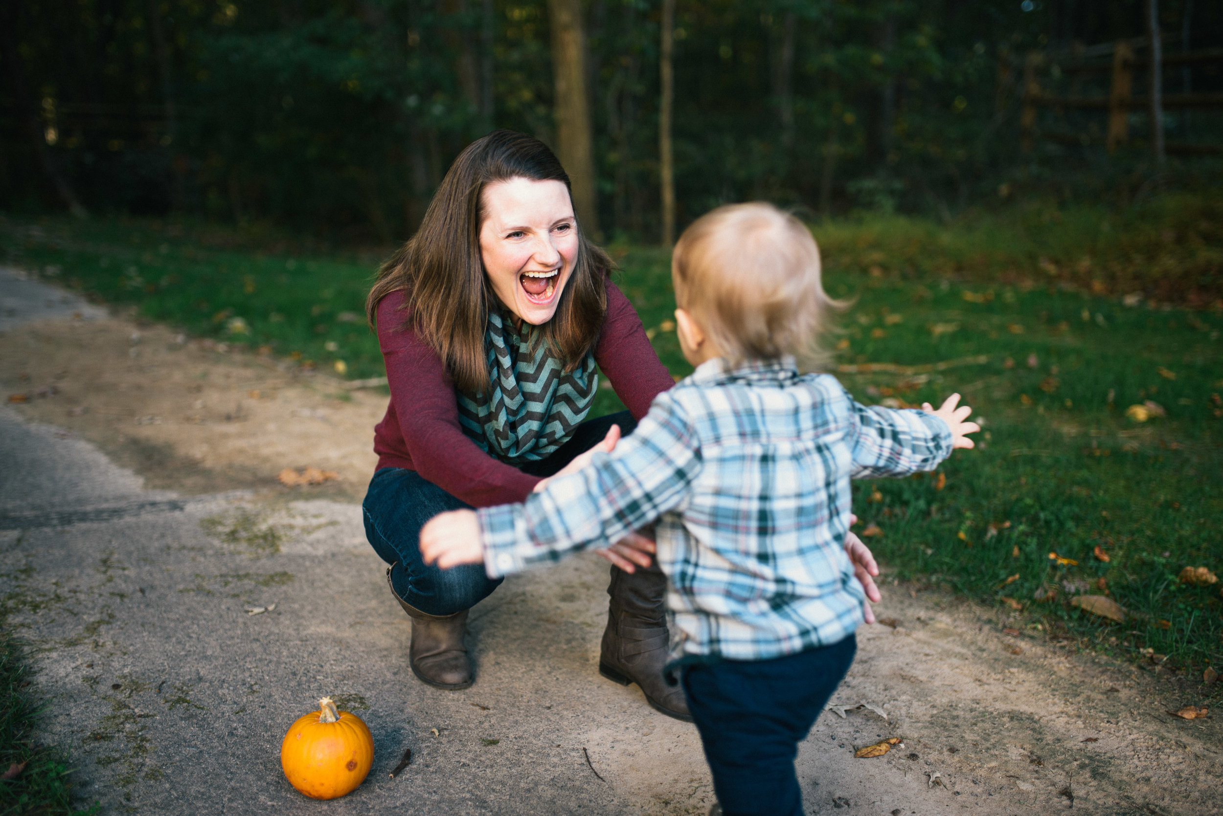 Raleigh Family Photographer - Fall Mini Sessions